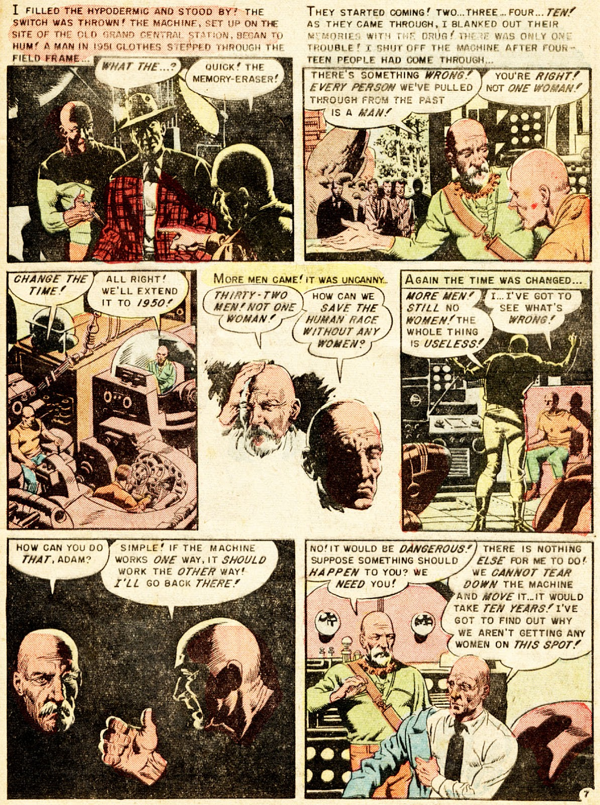 Weird Fantasy (1951) issue 13 - Page 9