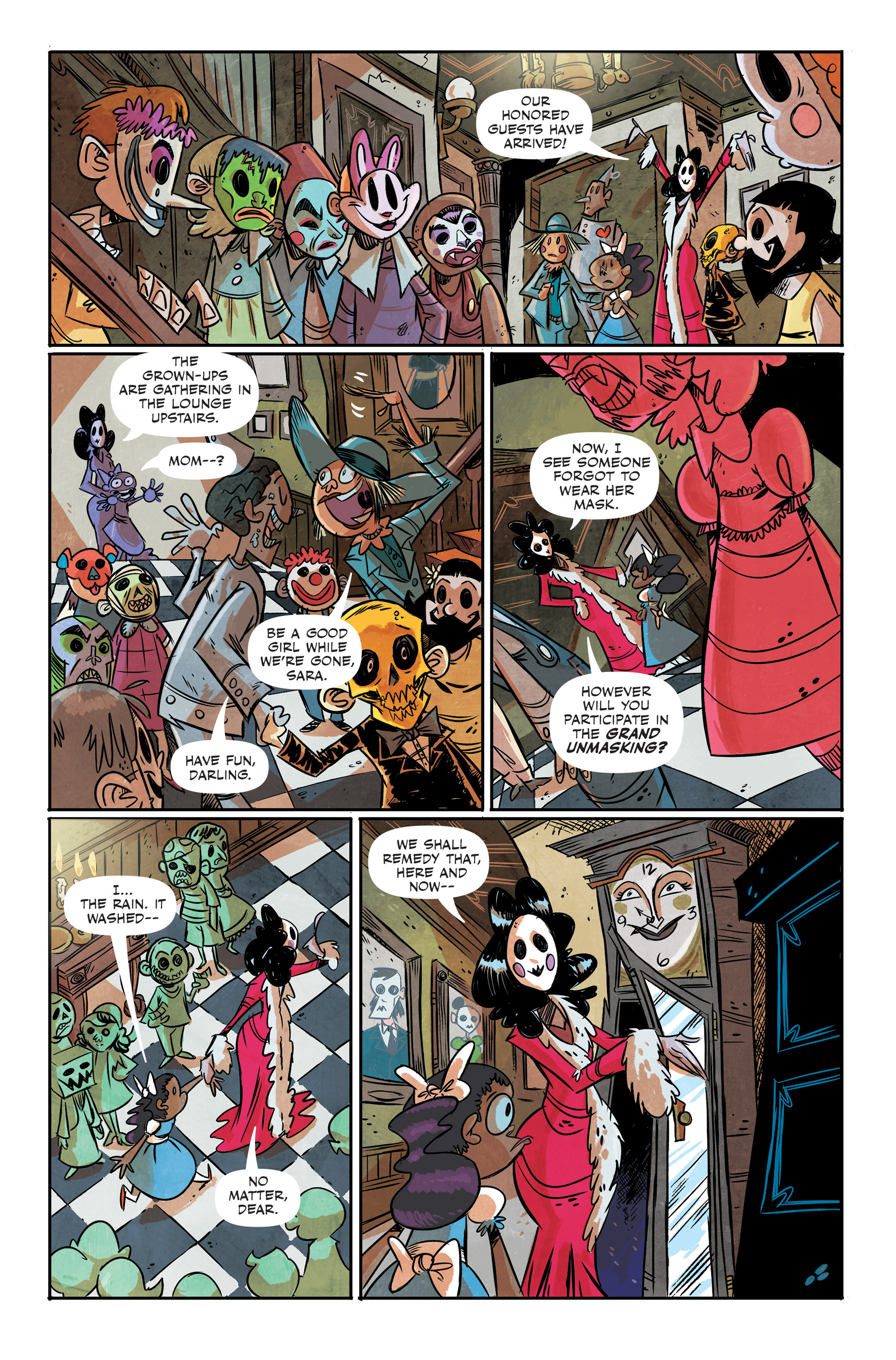 Read online Spook House comic -  Issue #5 - 10