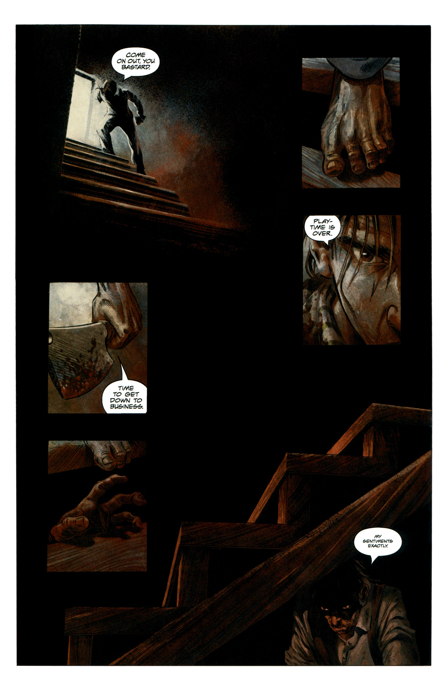 Read online Severed comic -  Issue #7 - 23