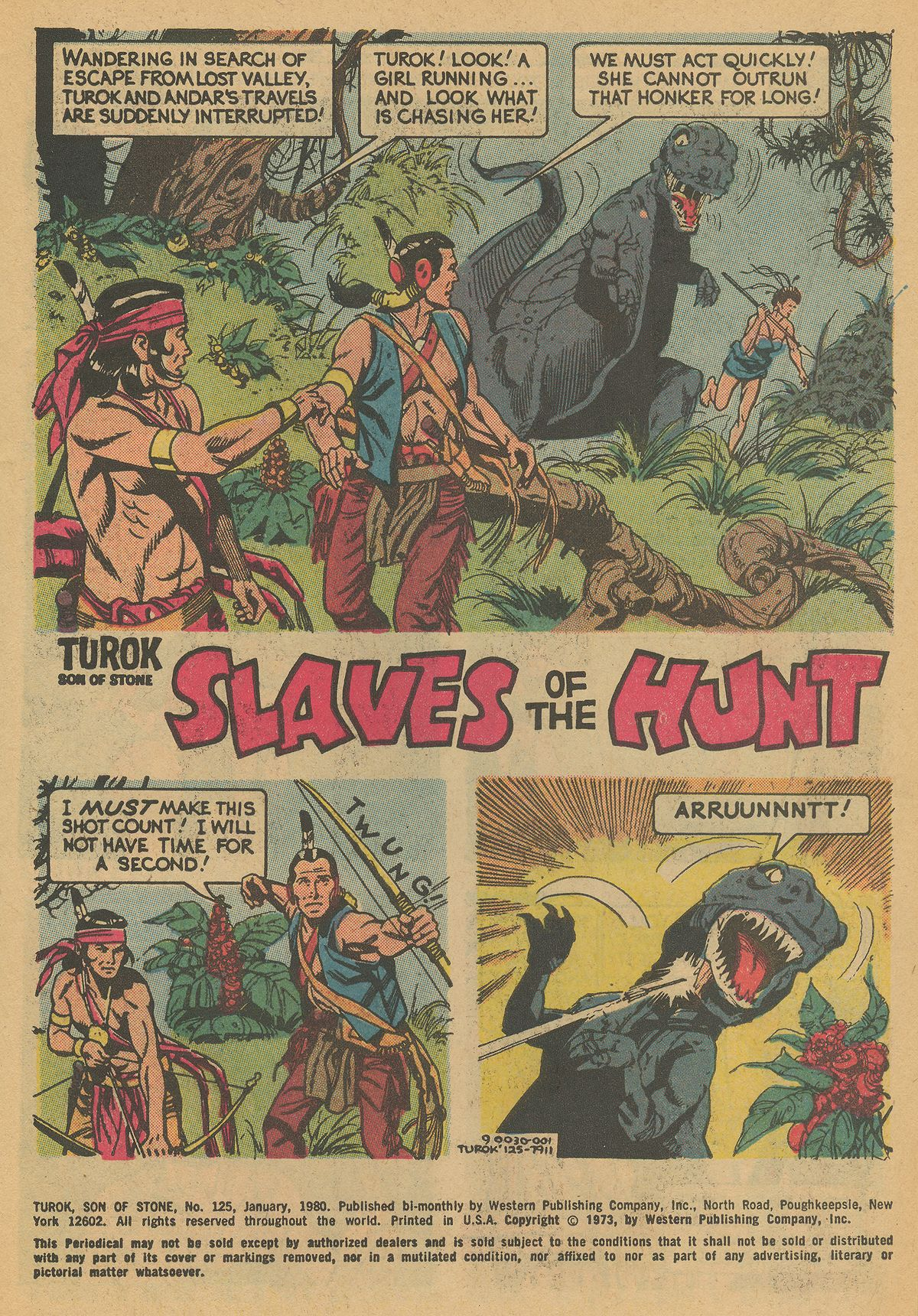 Read online Turok, Son of Stone comic -  Issue #125 - 3