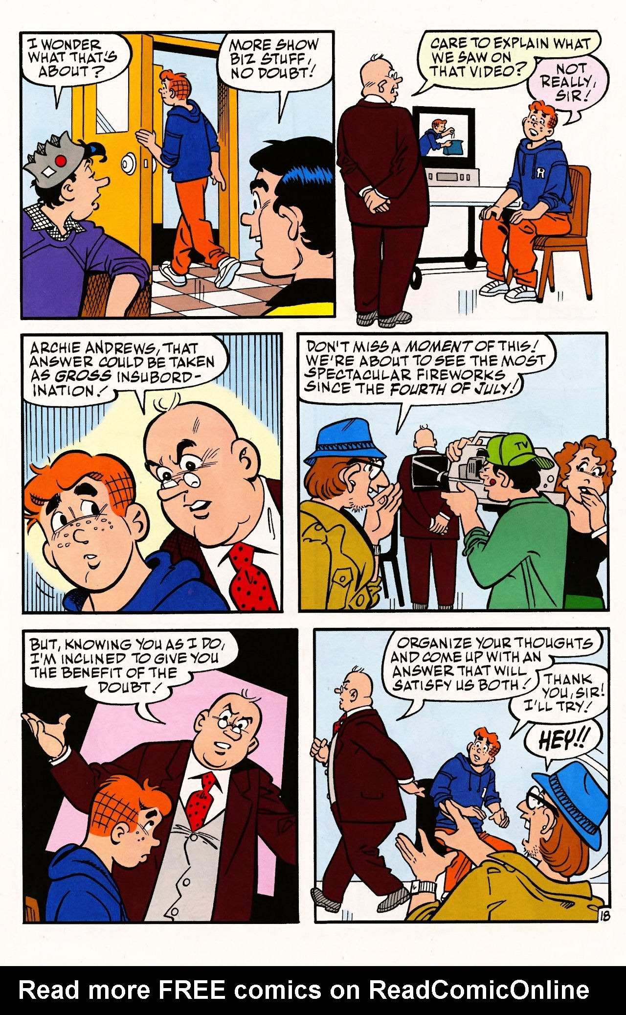 Read online Archie (1960) comic -  Issue #597 - 26