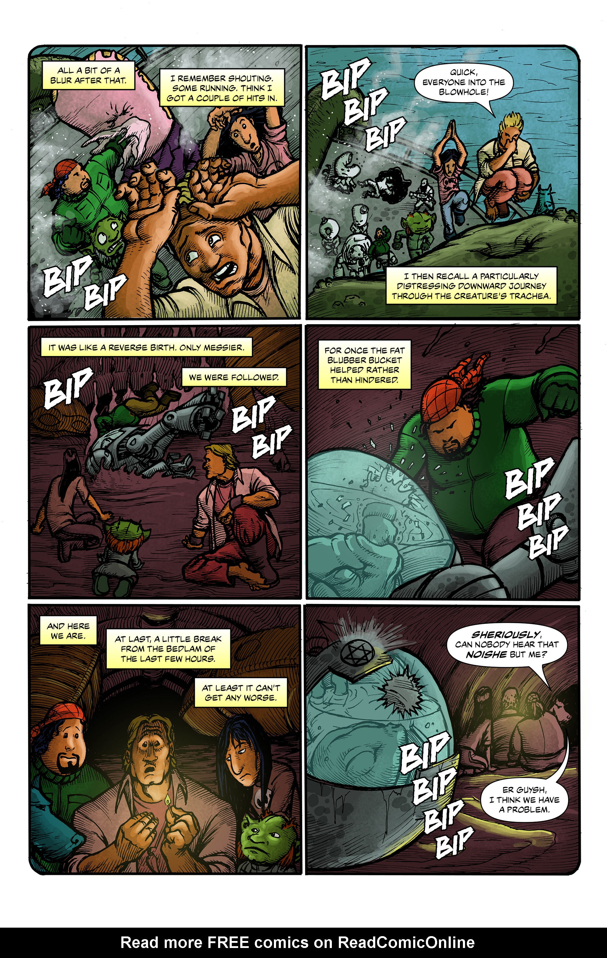 Read online 100% Biodegradable comic -  Issue #12 - 6
