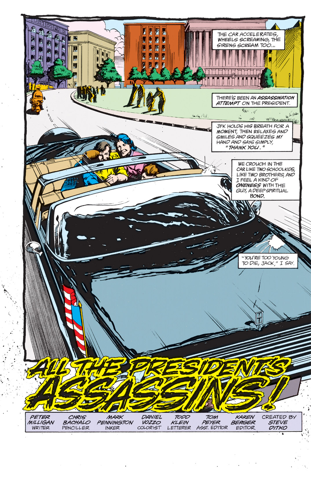 Read online Shade, the Changing Man comic -  Issue #3 - 4