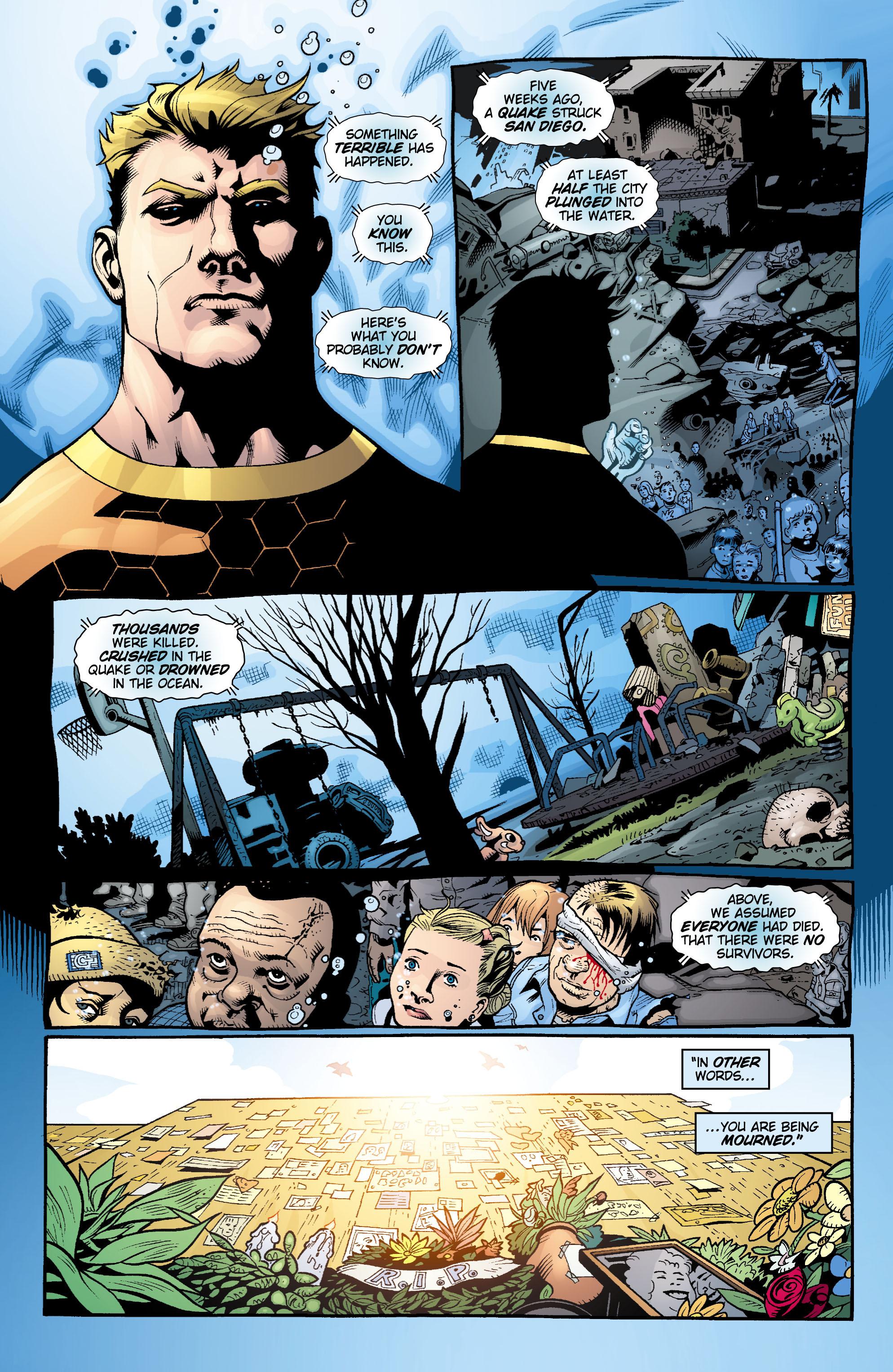 Read online Aquaman (2003) comic -  Issue #17 - 9