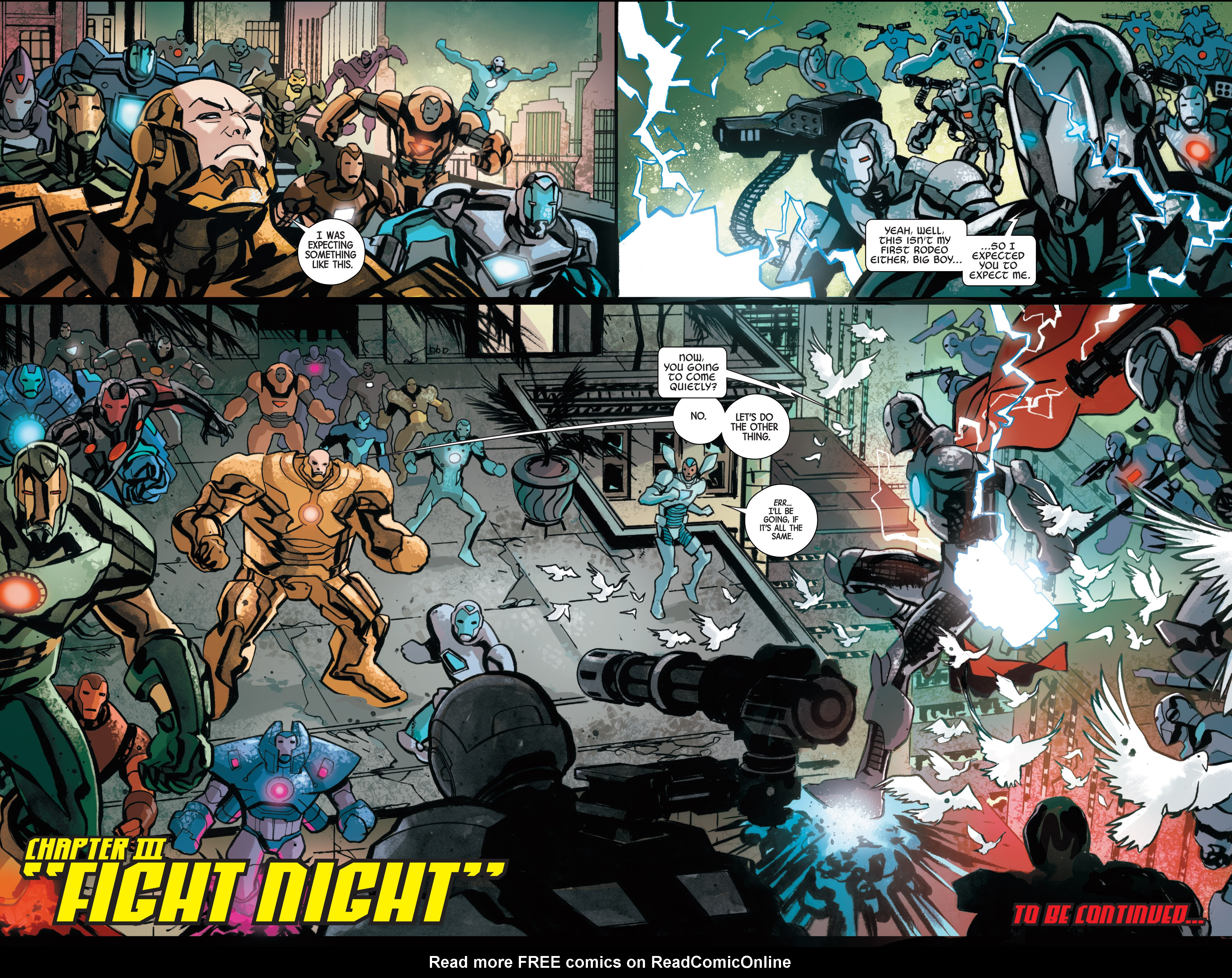 Read online Armor Wars comic -  Issue #3 - 21