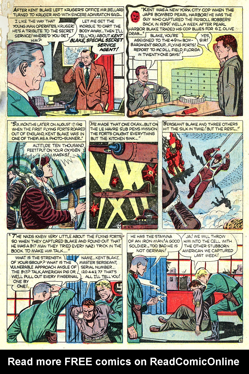 Kent Blake of the Secret Service issue 1 - Page 7