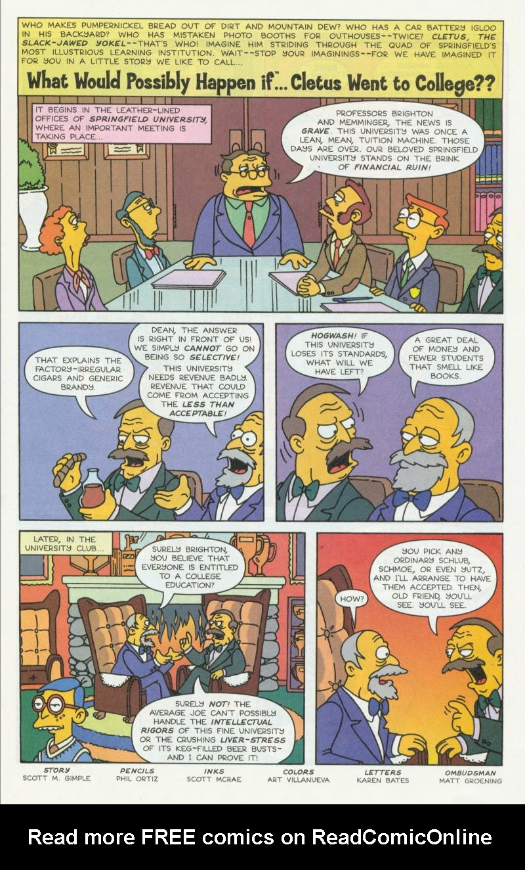 Read online Simpsons Comics comic -  Issue #51 - 27