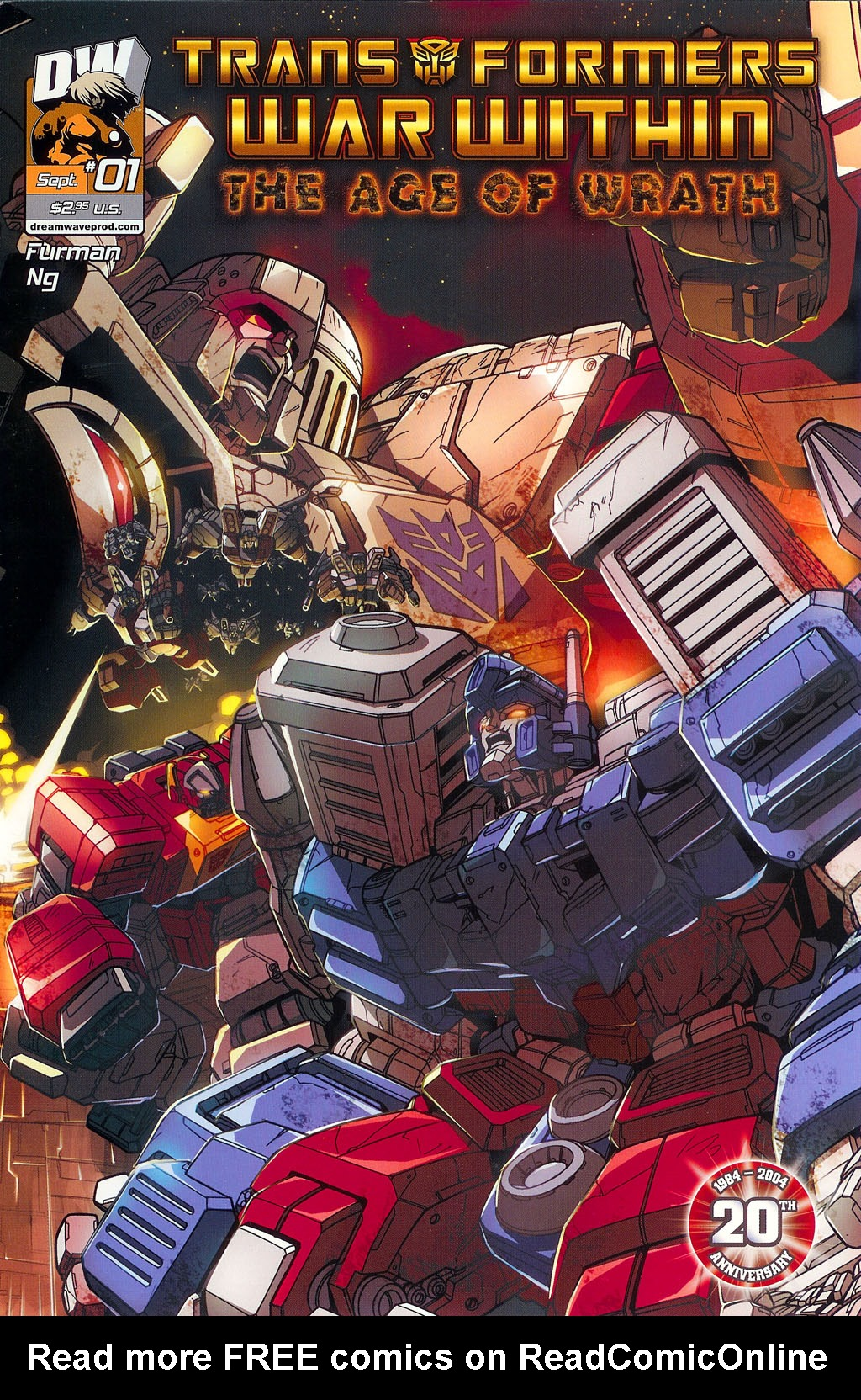 """Read online Transformers War Within: """"The Age of Wrath"""" comic -  Issue #1 - 4"""