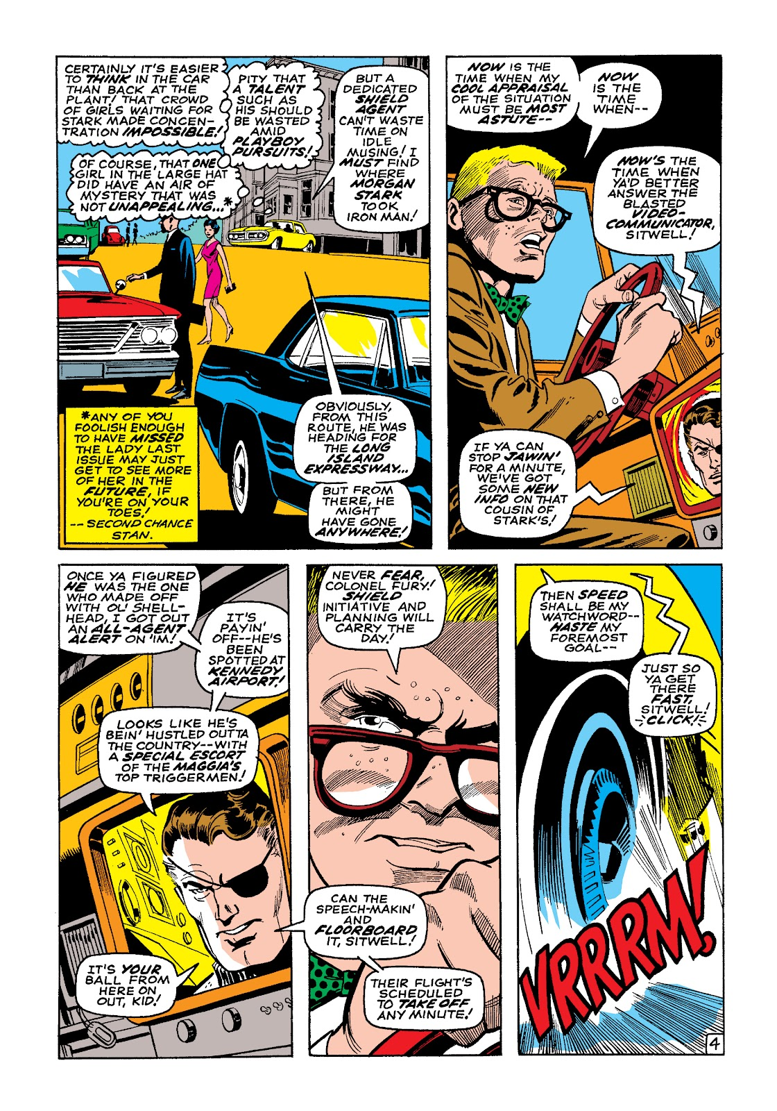 Read online Marvel Masterworks: The Invincible Iron Man comic -  Issue # TPB 4 (Part 3) - 4