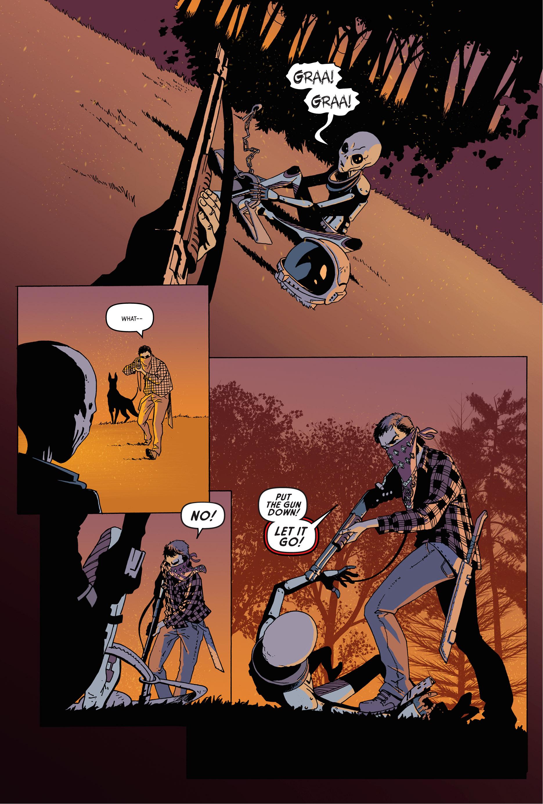 Read online Trespasser comic -  Issue #1 - 8