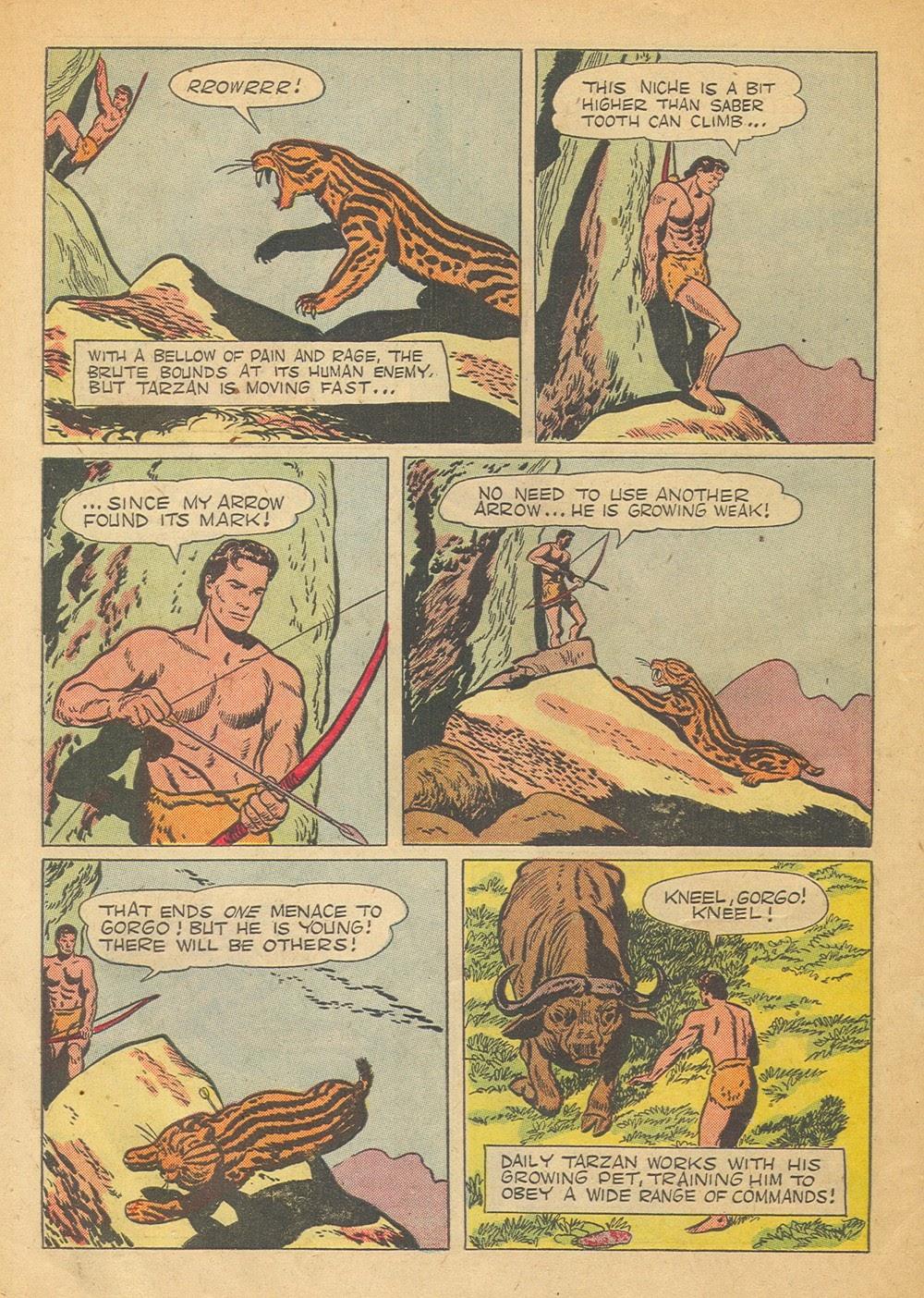 Tarzan (1948) issue 57 - Page 6