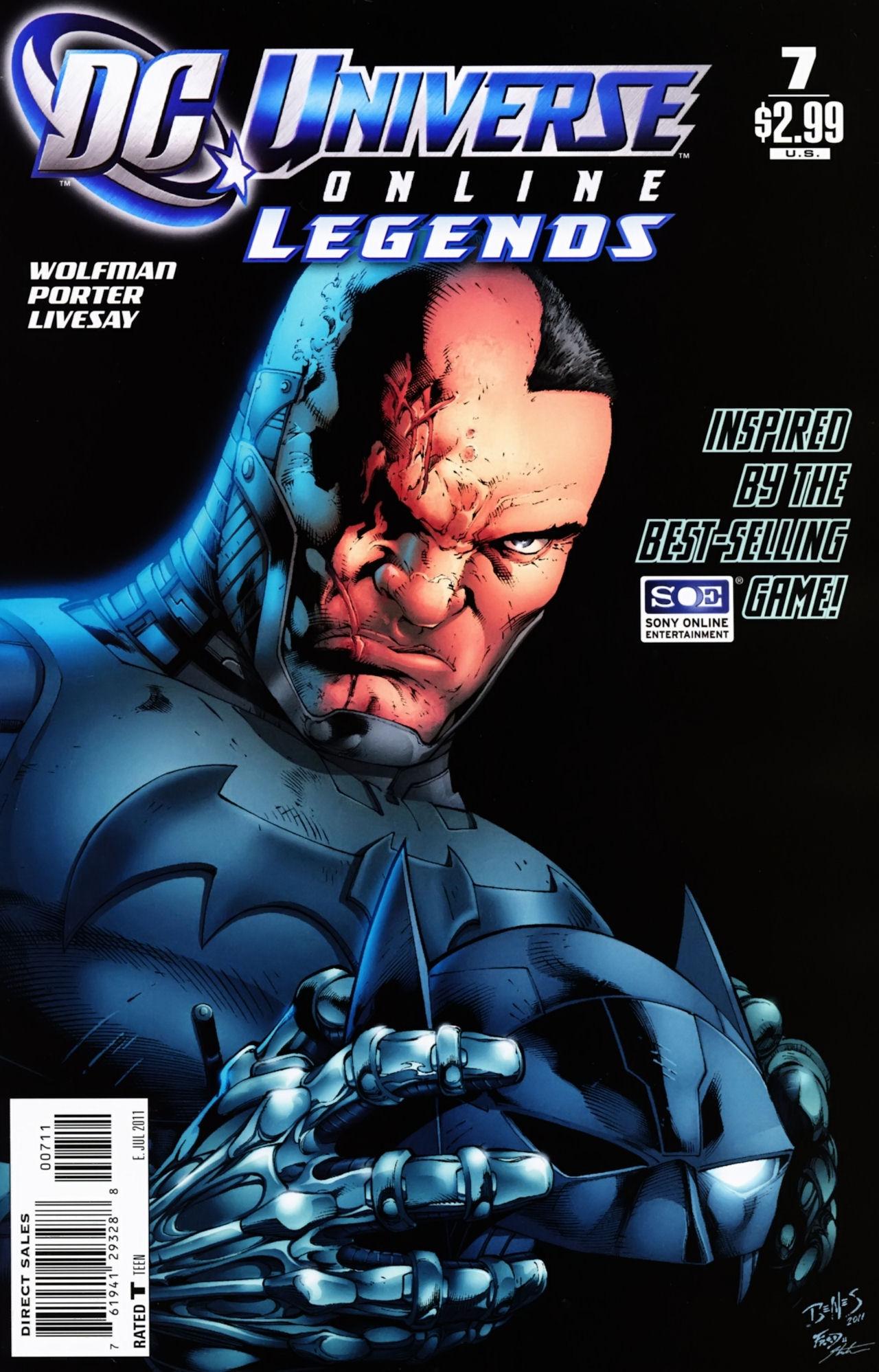 DC Universe Online: Legends 7 Page 1