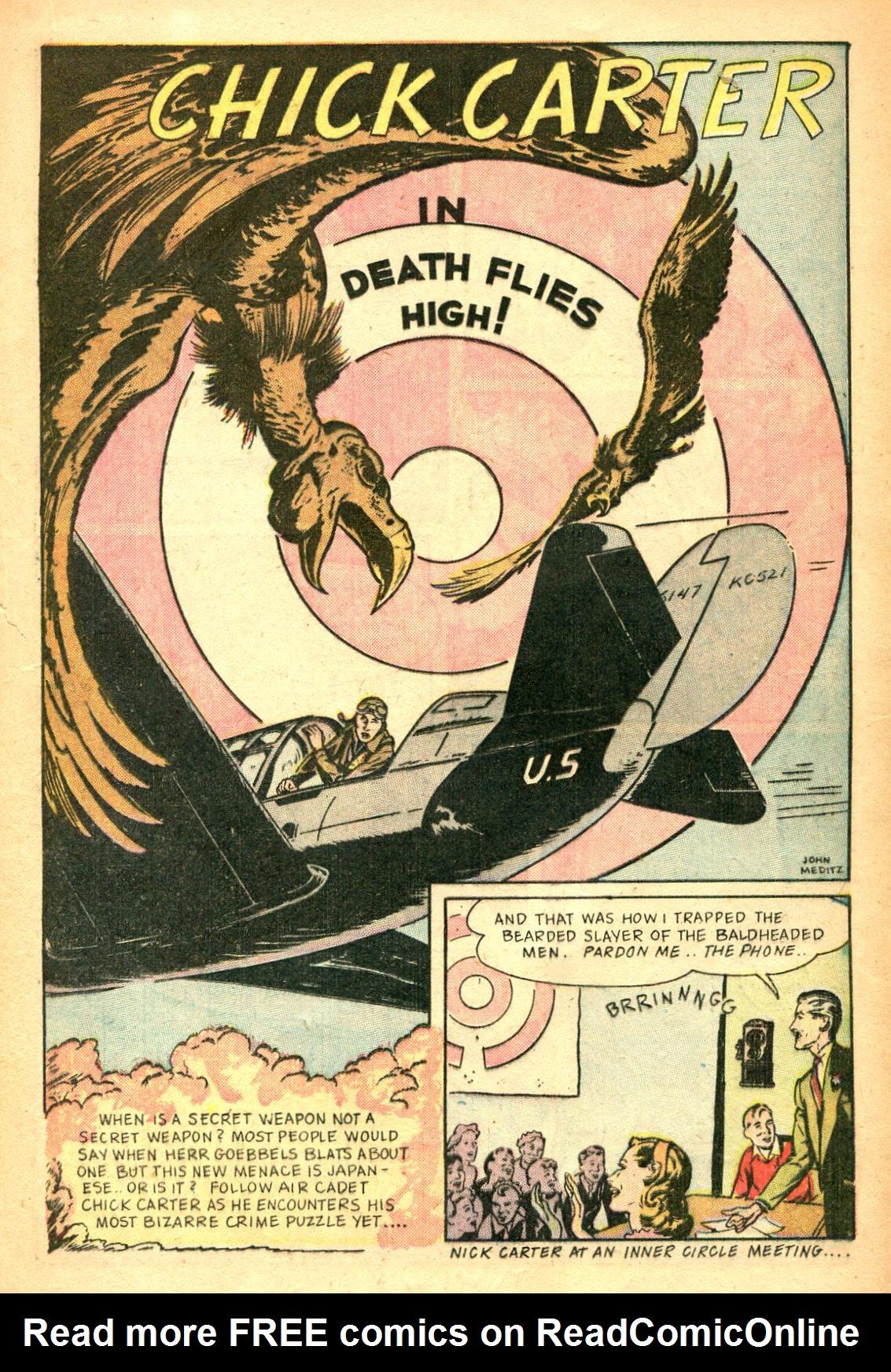 Read online Shadow Comics comic -  Issue #47 - 26