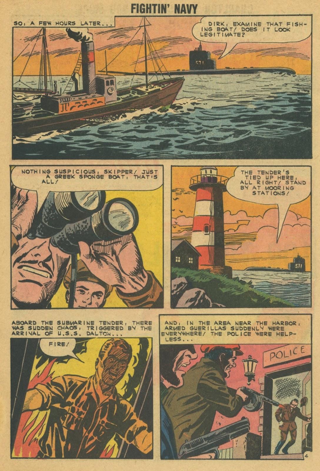 Read online Fightin' Navy comic -  Issue #103 - 16