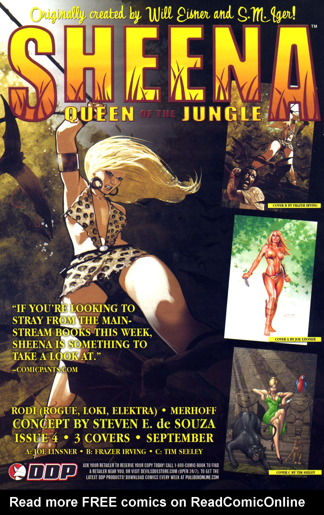 Read online Sheena, Queen of the Jungle comic -  Issue #3 - 25