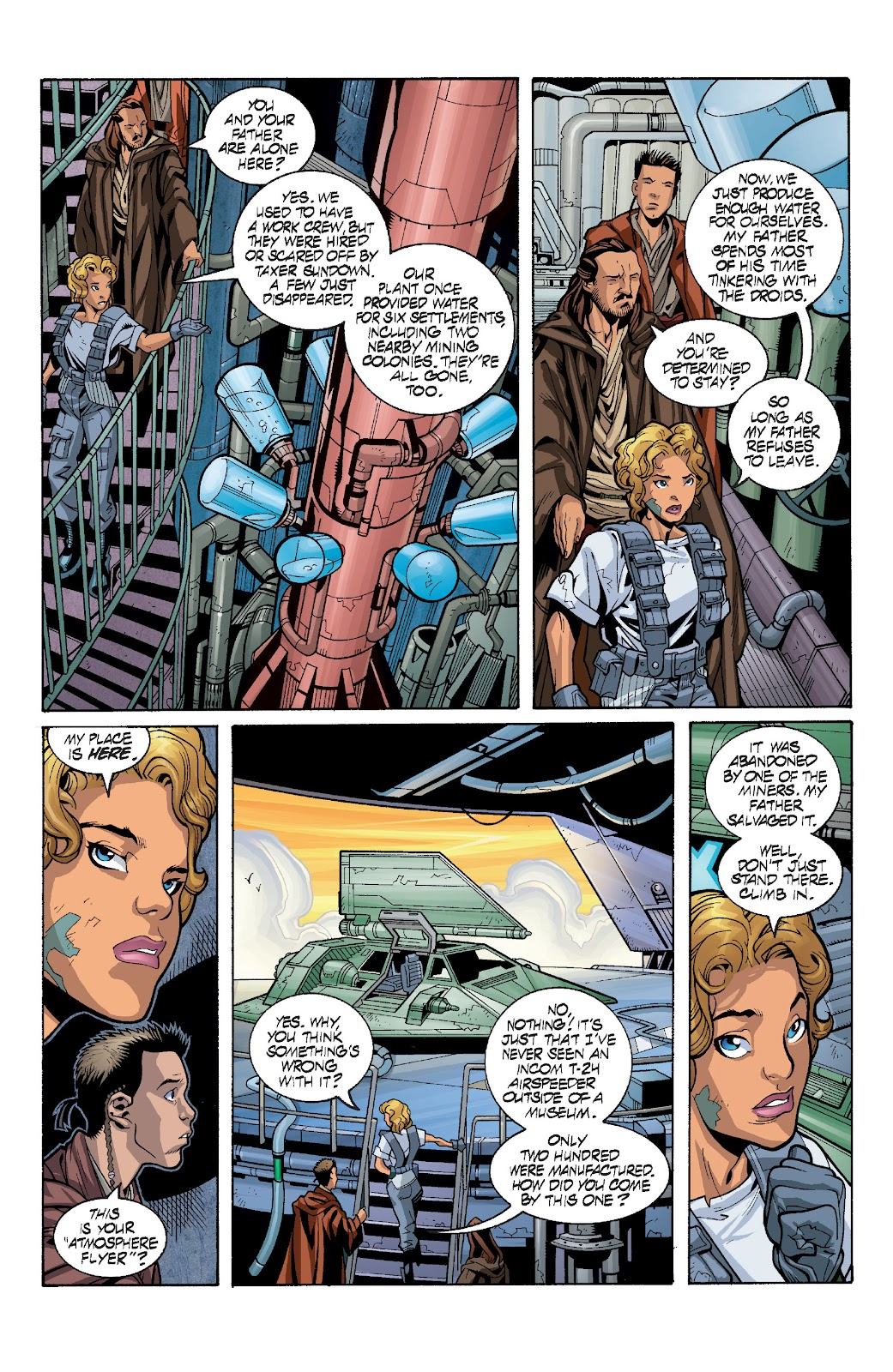 Read online Star Wars Legends: Rise of the Sith - Epic Collection comic -  Issue # TPB 1 (Part 4) - 3