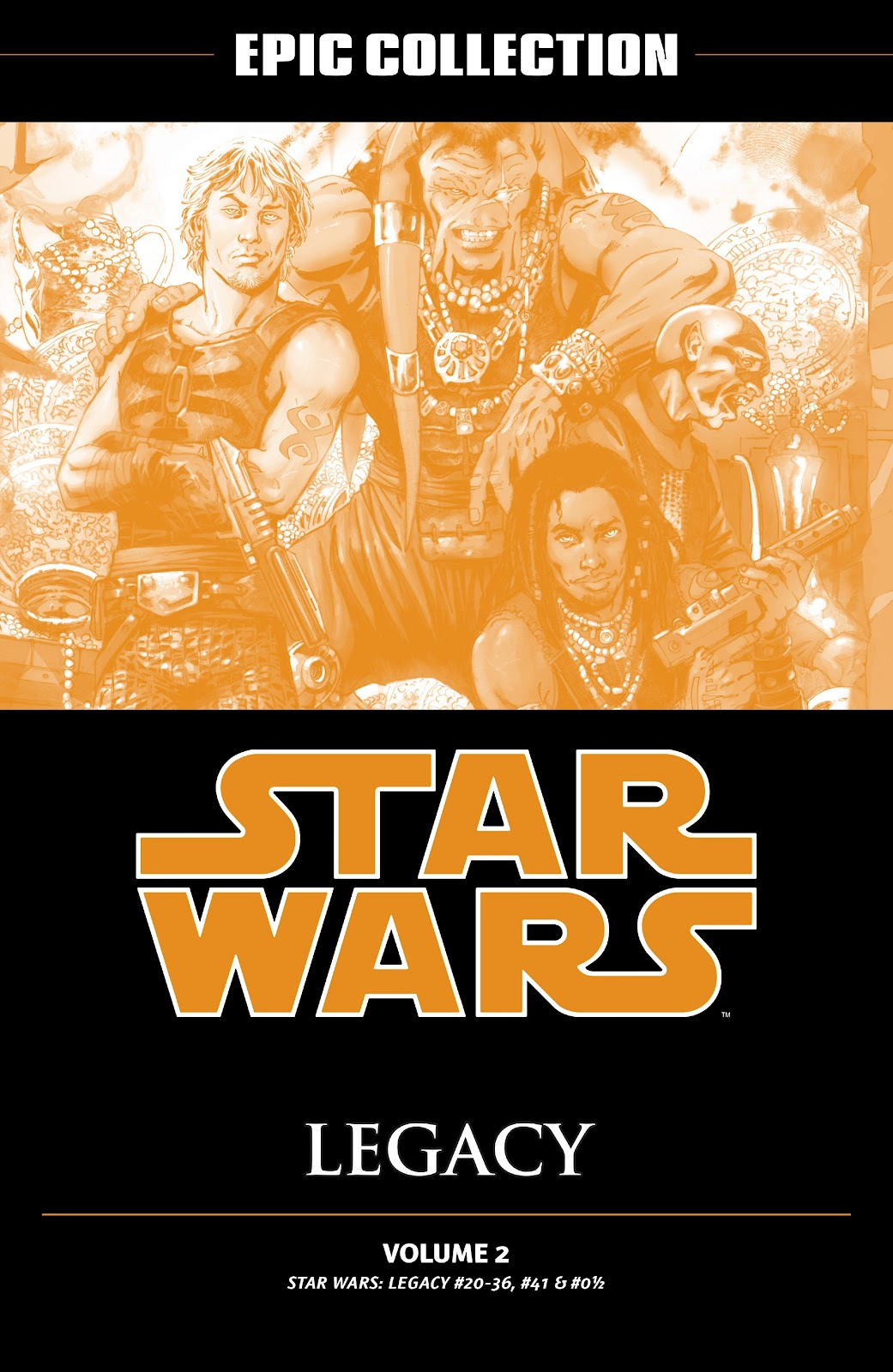 Read online Star Wars Legends: Legacy - Epic Collection comic -  Issue # TPB 2 (Part 1) - 2