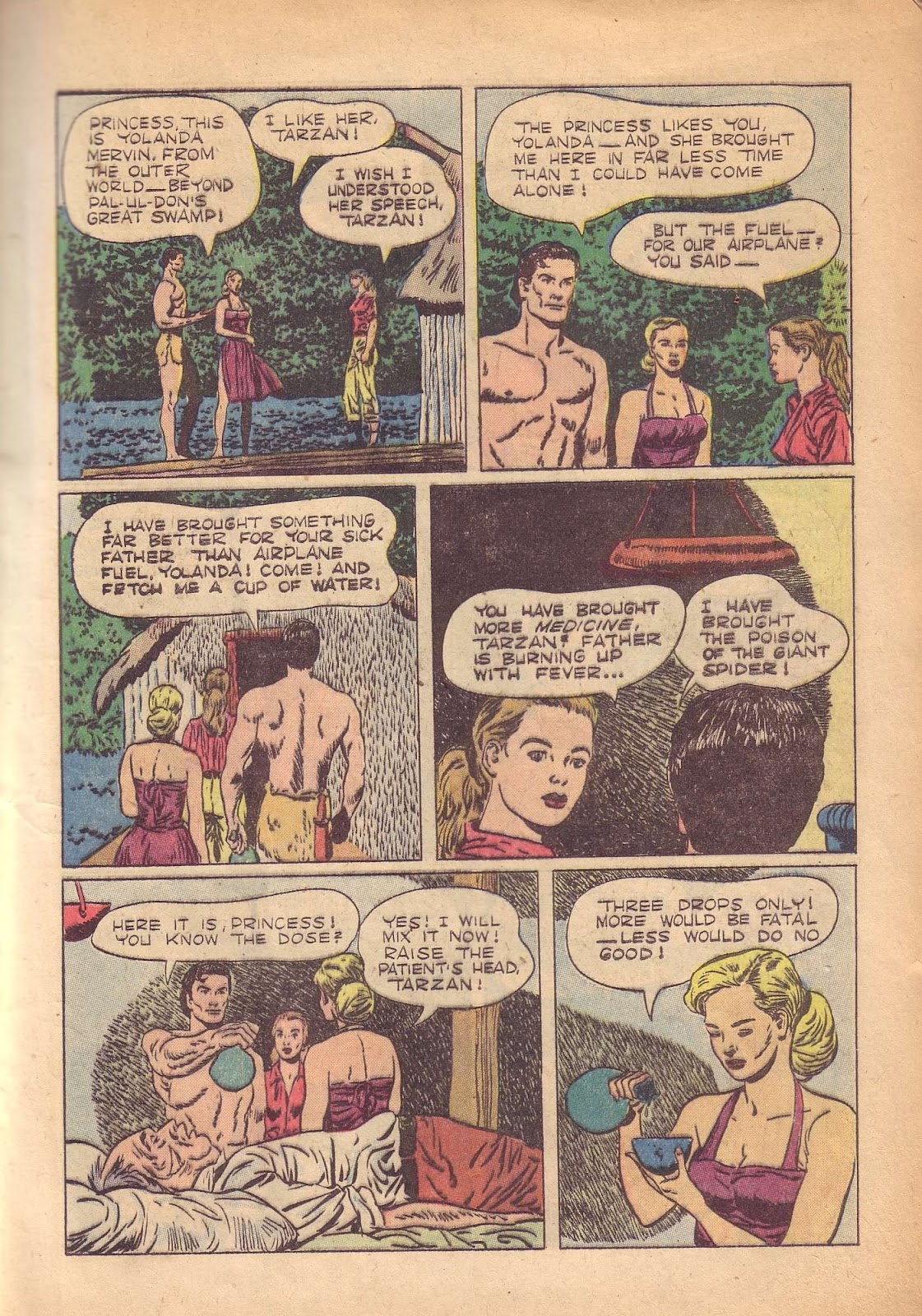 Tarzan (1948) issue 50 - Page 17
