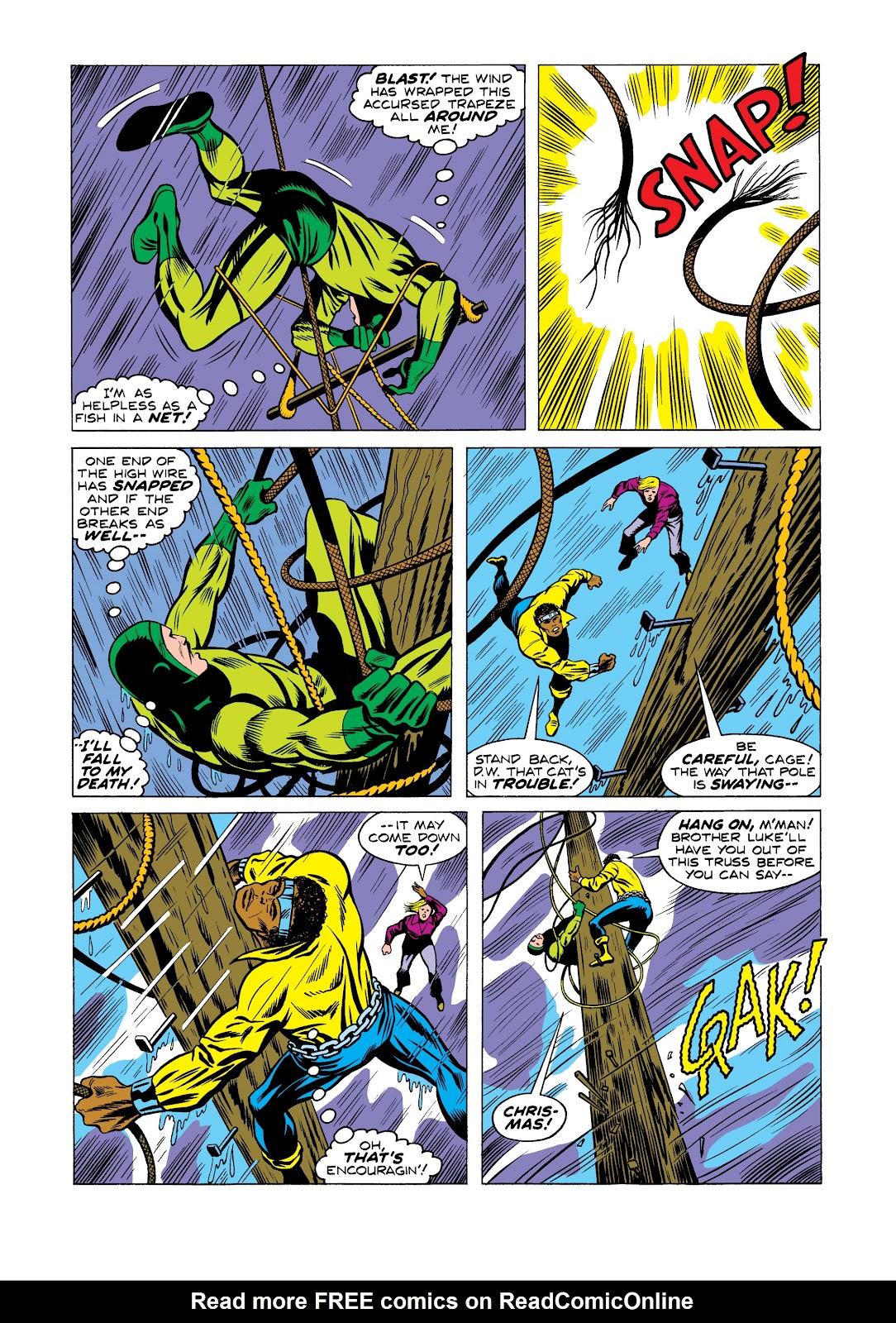 Read online Marvel Masterworks: Luke Cage, Power Man comic -  Issue # TPB 2 (Part 2) - 46