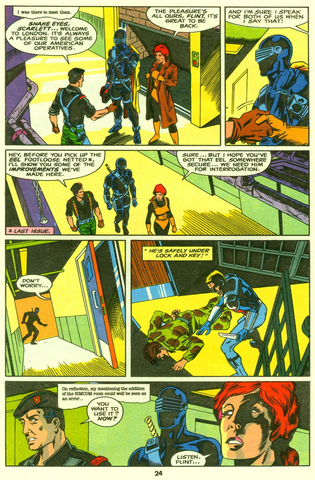 G.I. Joe European Missions issue 9 - Page 25