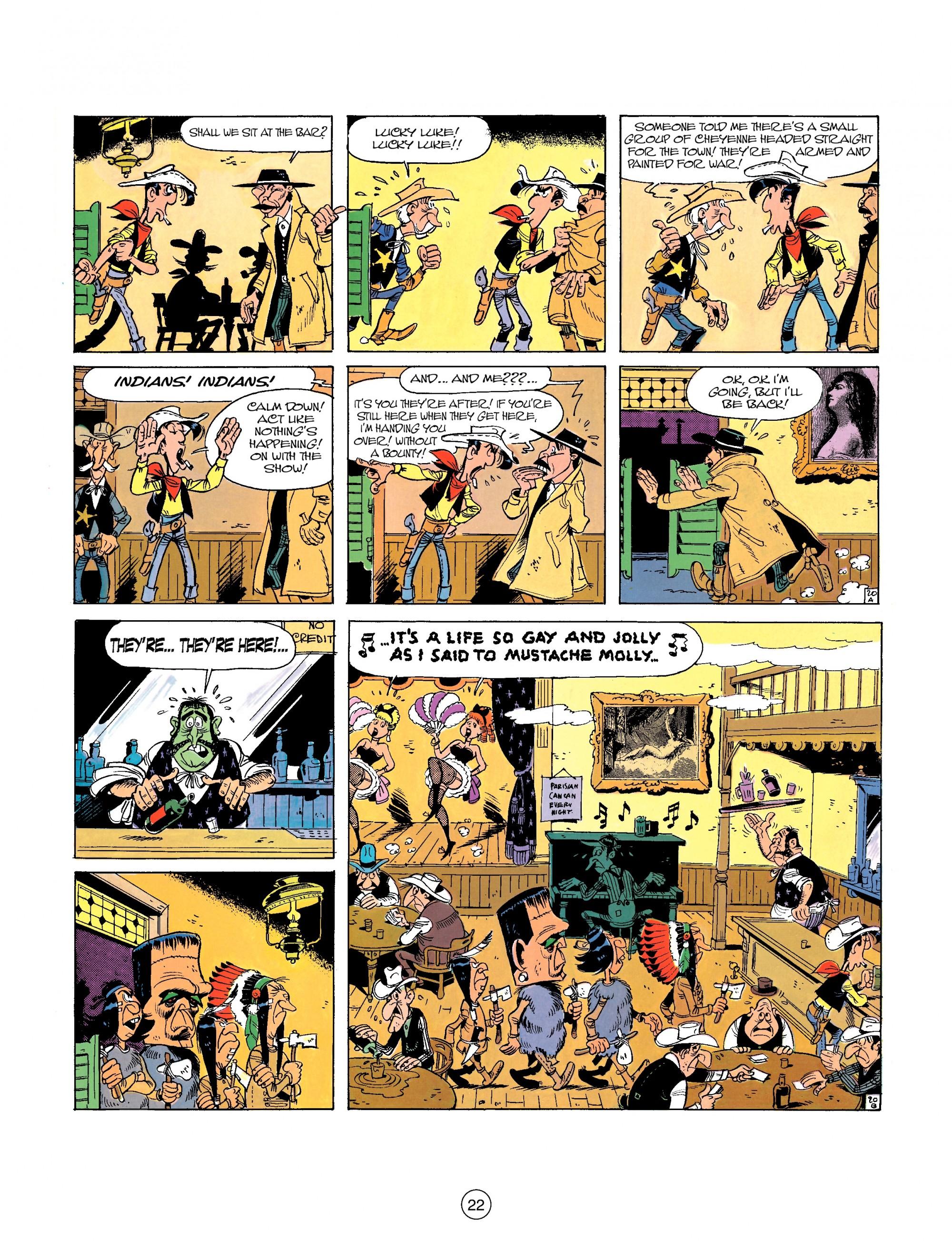 Read online A Lucky Luke Adventure comic -  Issue #26 - 22