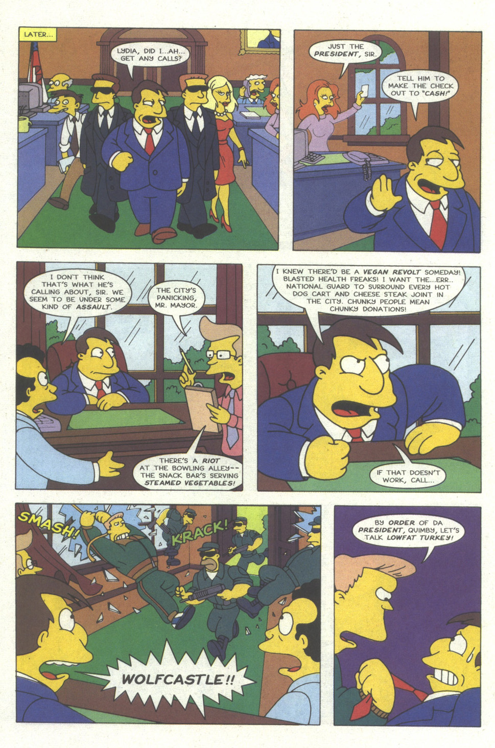 Read online Simpsons Comics comic -  Issue #18 - 5