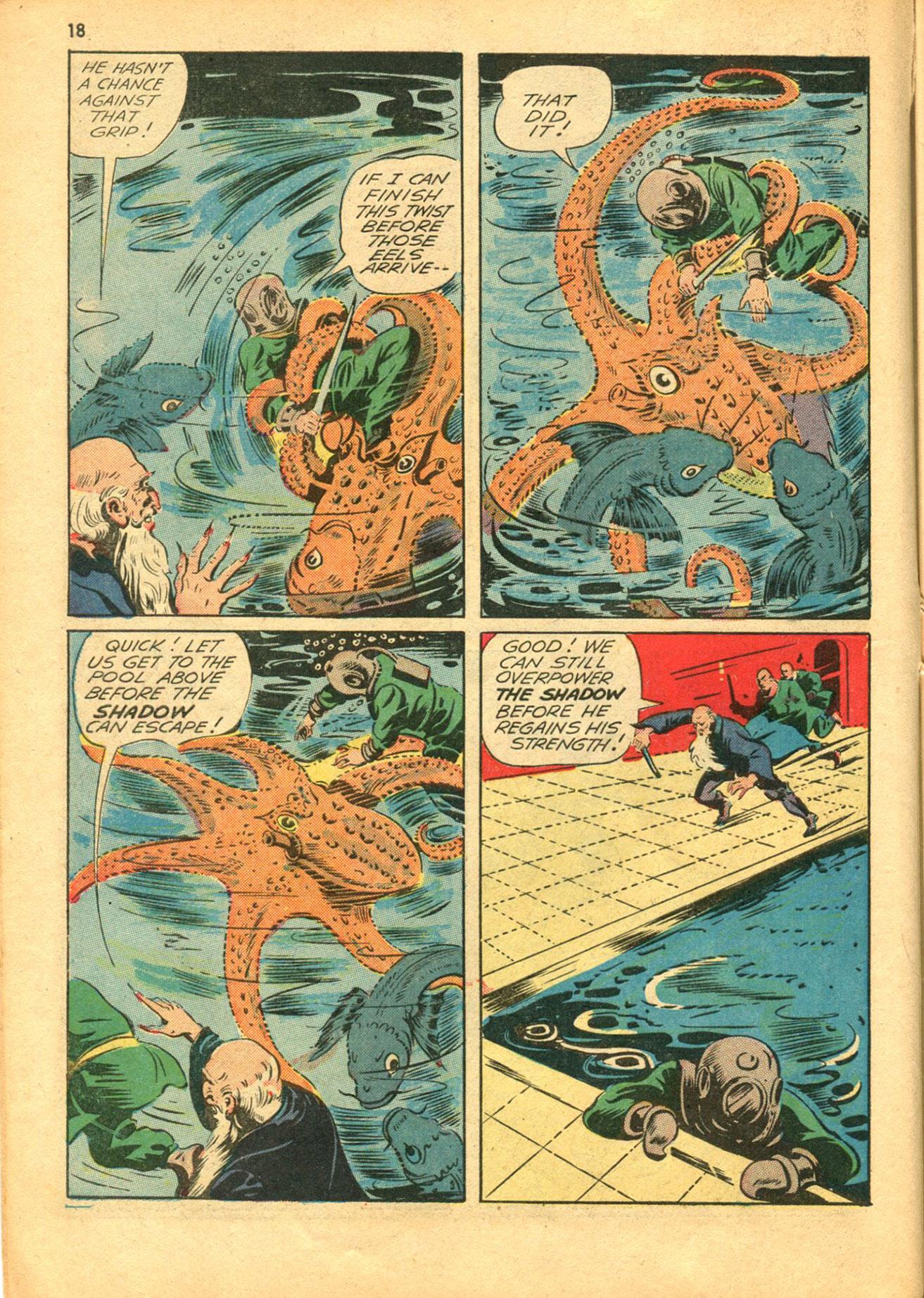 Read online Shadow Comics comic -  Issue #30 - 18