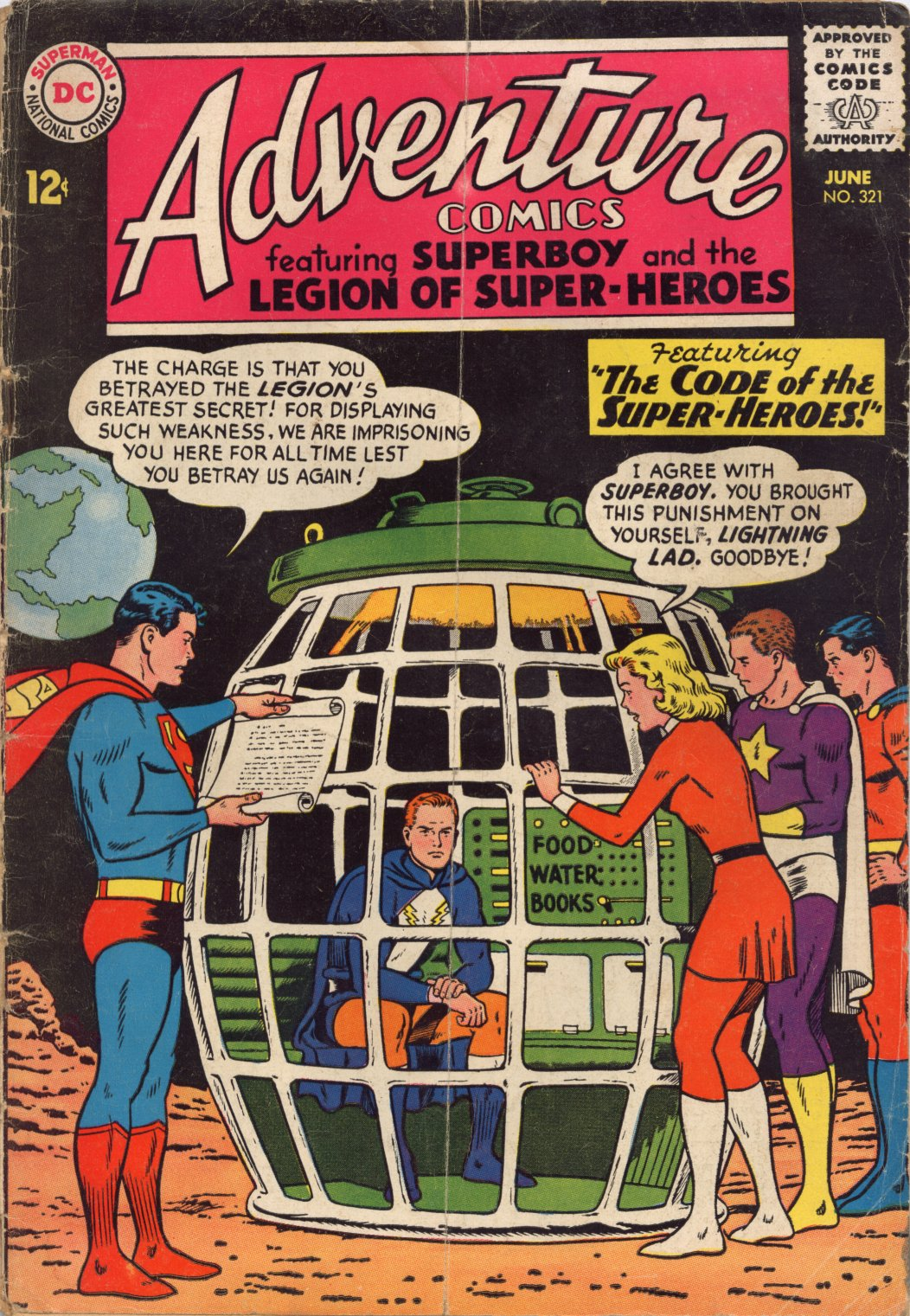 Read online Adventure Comics (1938) comic -  Issue #321 - 1