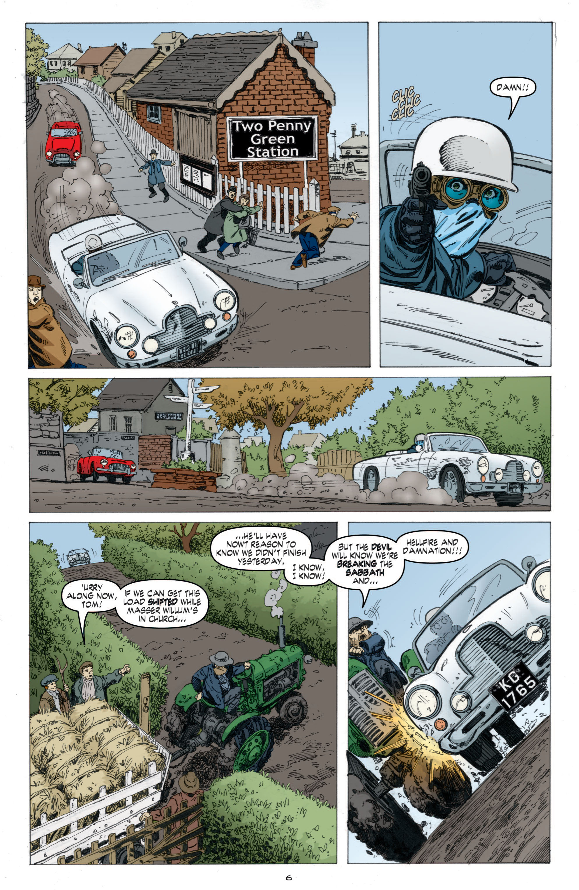Read online Cold War comic -  Issue # TPB - 64