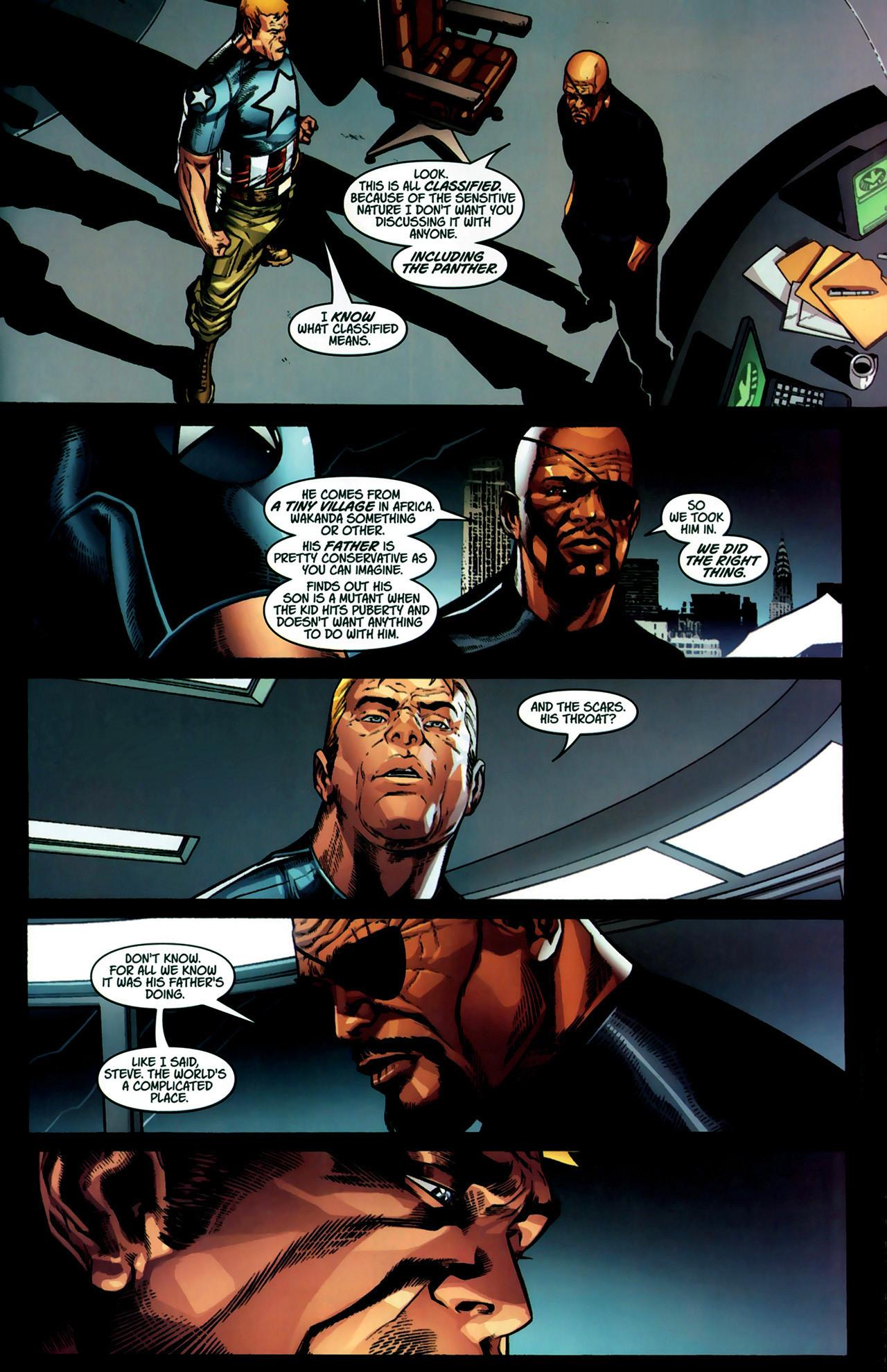 Read online Ultimate Captain America (2008) comic -  Issue # Full - 23