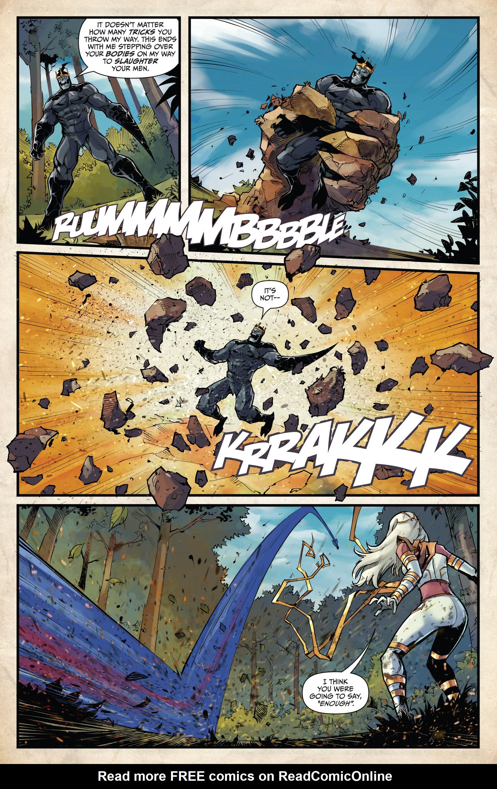 Read online Grimm Fairy Tales vs. Wonderland comic -  Issue #4 - 17