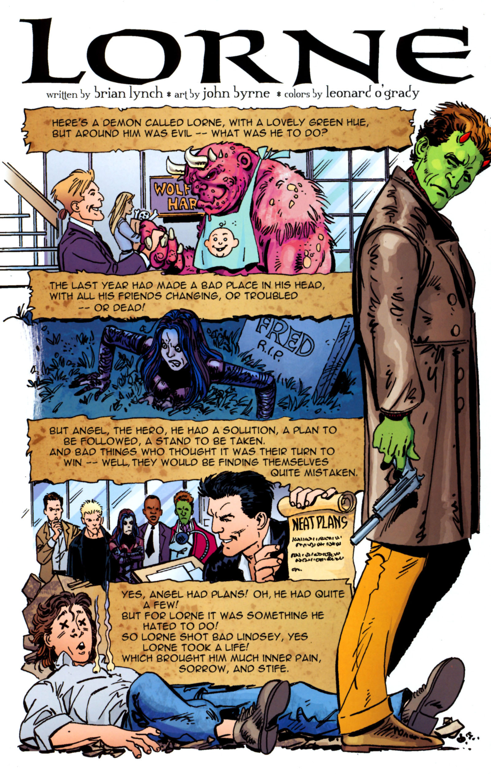 Read online Angel Special: Lorne comic -  Issue # Full - 37