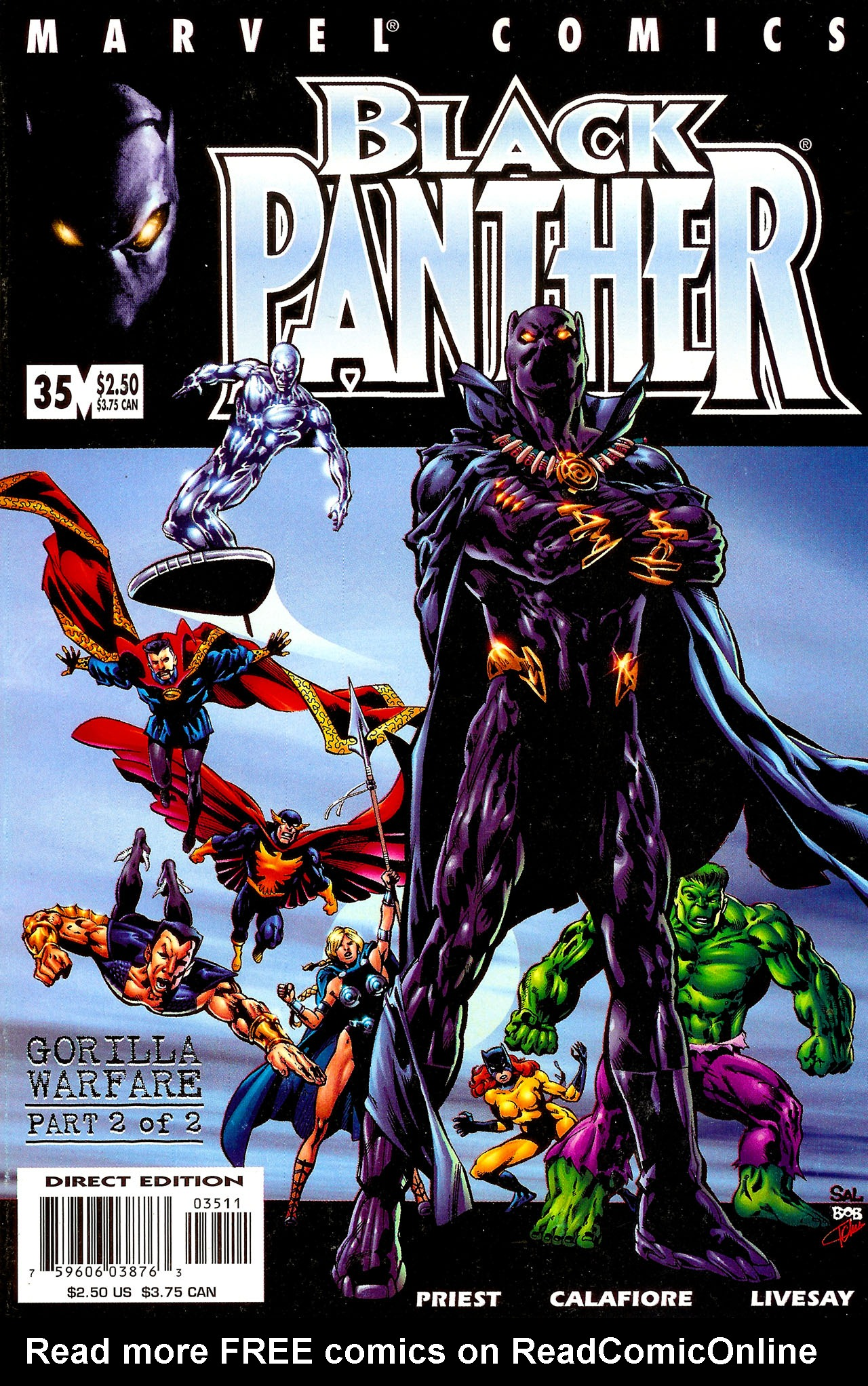 Black Panther (1998) 35 Page 1
