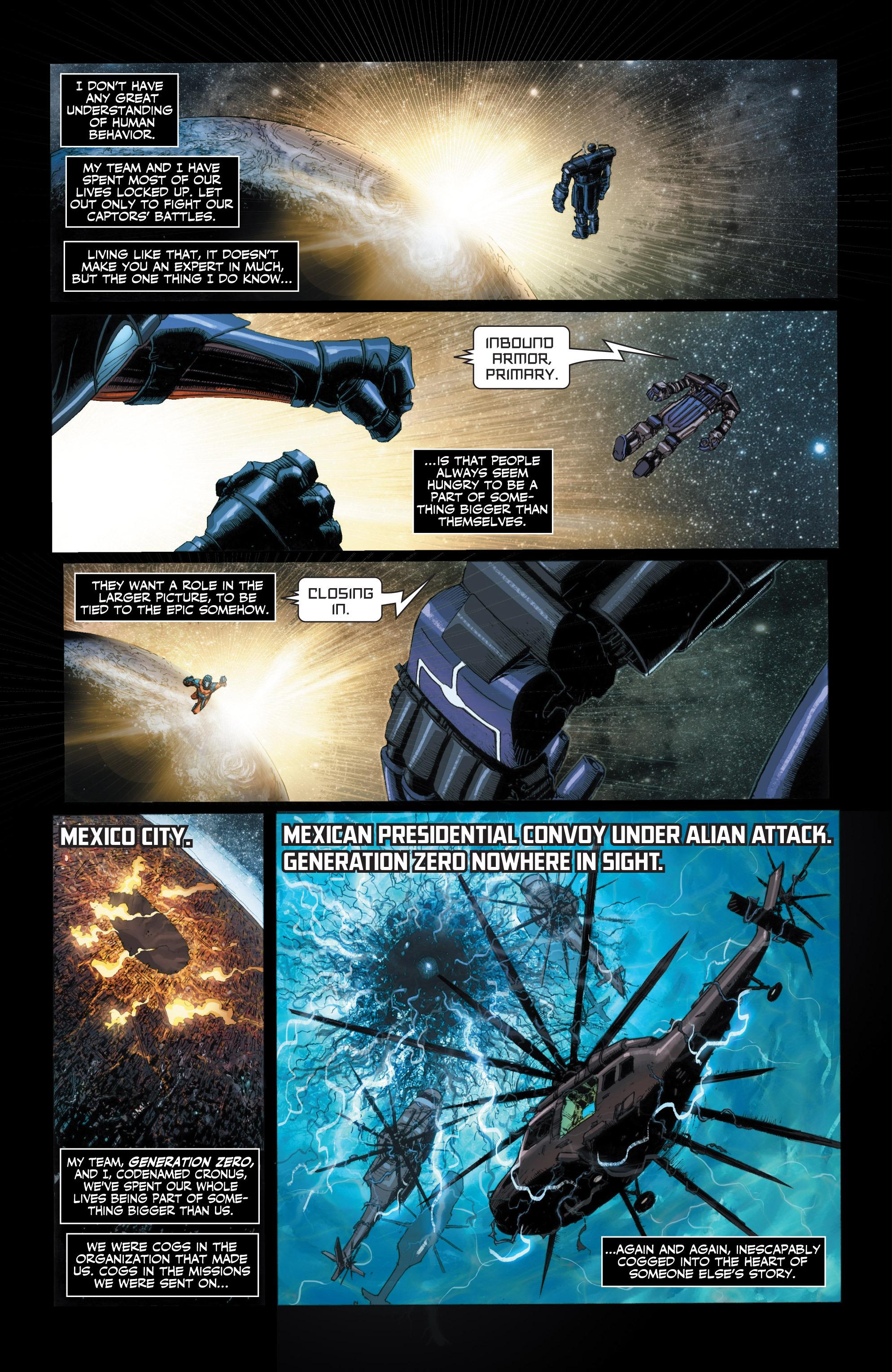 Read online Armor Hunters: Harbinger comic -  Issue # TPB - 31