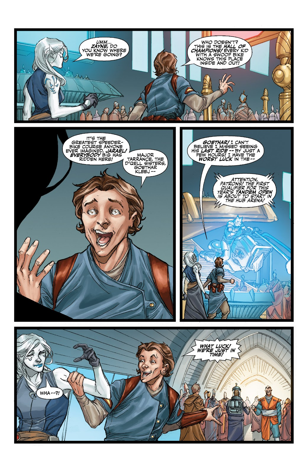 Read online Star Wars Legends: The Old Republic - Epic Collection comic -  Issue # TPB 3 (Part 1) - 37