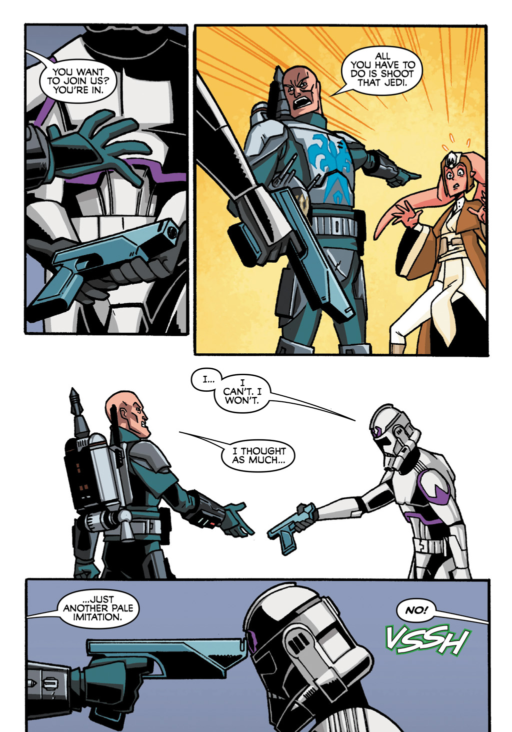 Read online Star Wars: The Clone Wars - Defenders of the Lost Temple comic -  Issue # Full - 56