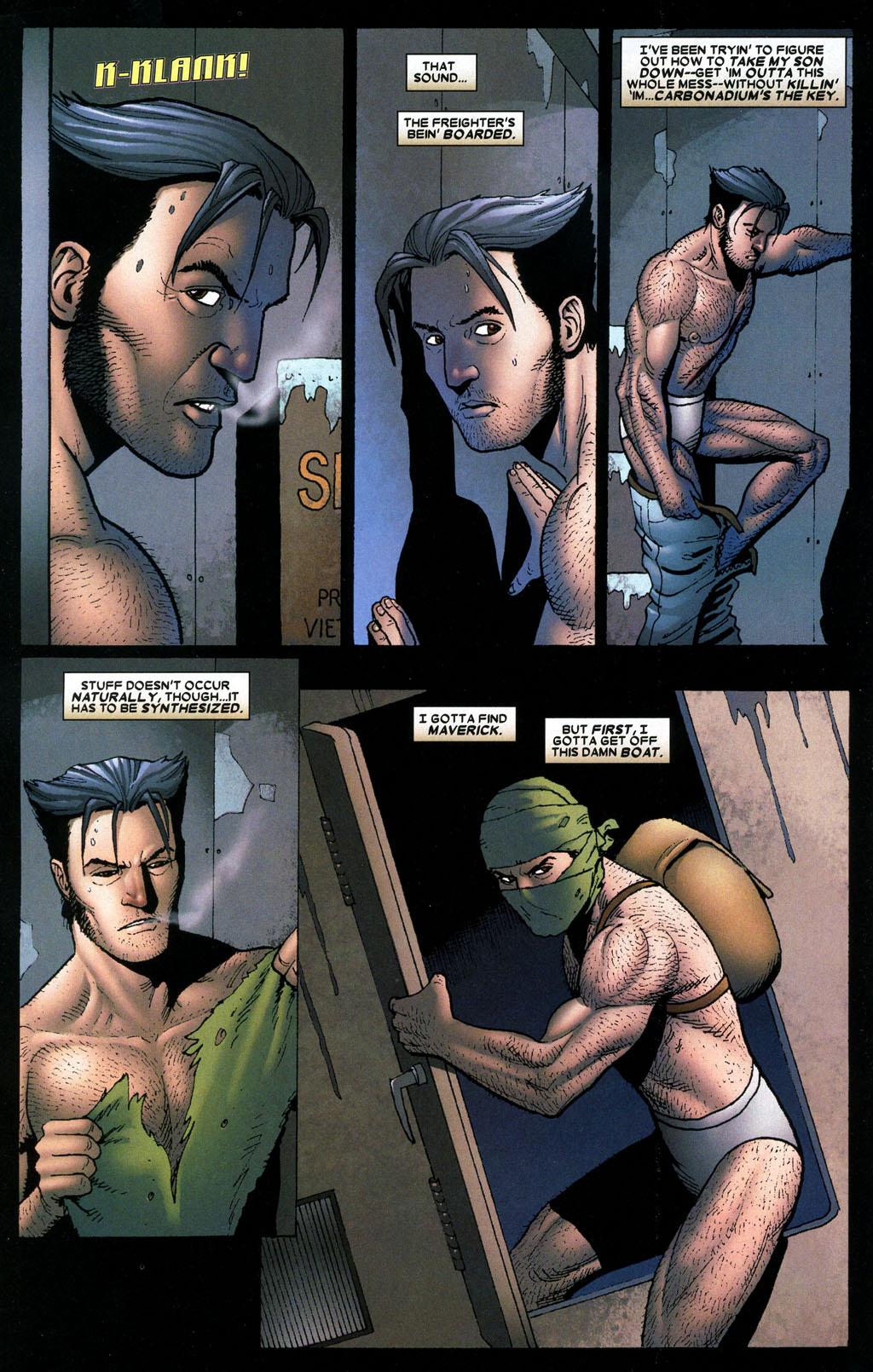 Read online Wolverine: Origins comic -  Issue #6 - 11