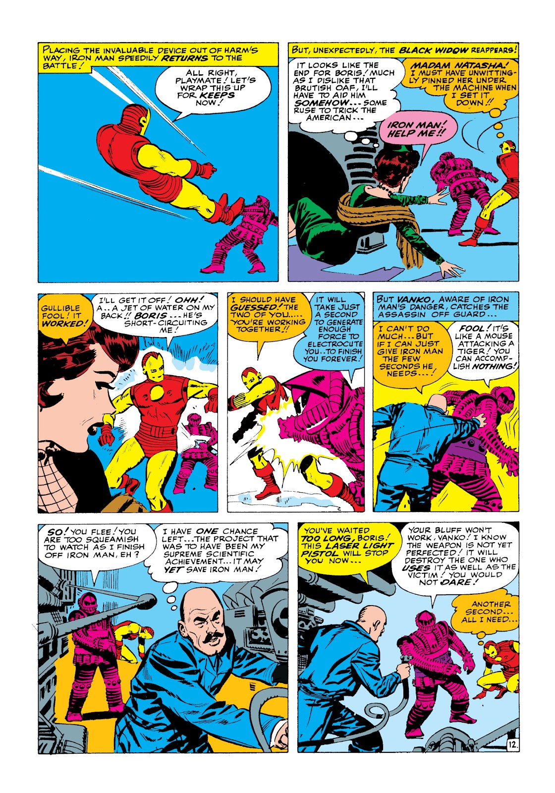 Read online Marvel Masterworks: The Invincible Iron Man comic -  Issue # TPB 2 (Part 1) - 29