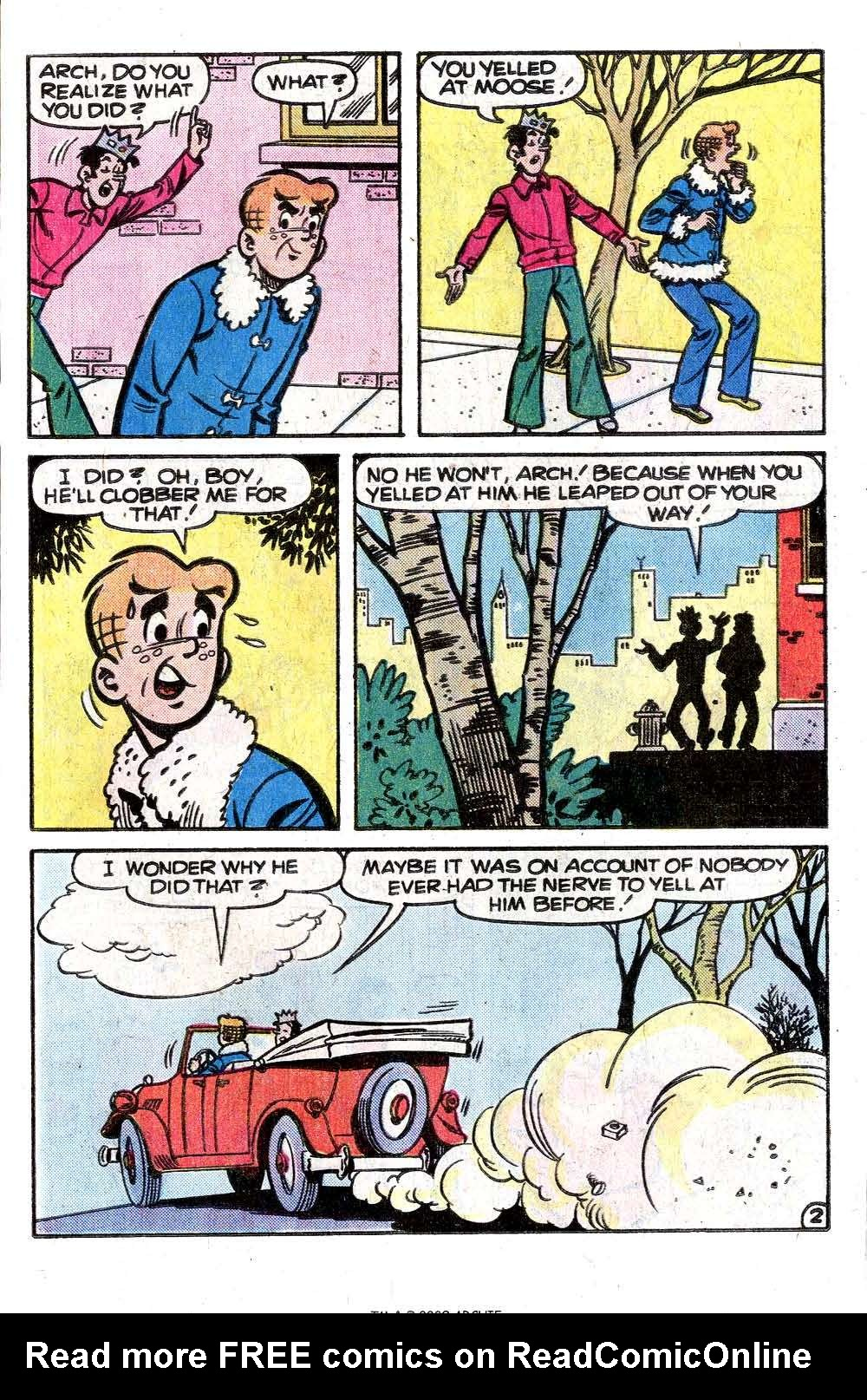 Read online Archie (1960) comic -  Issue #261 - 21