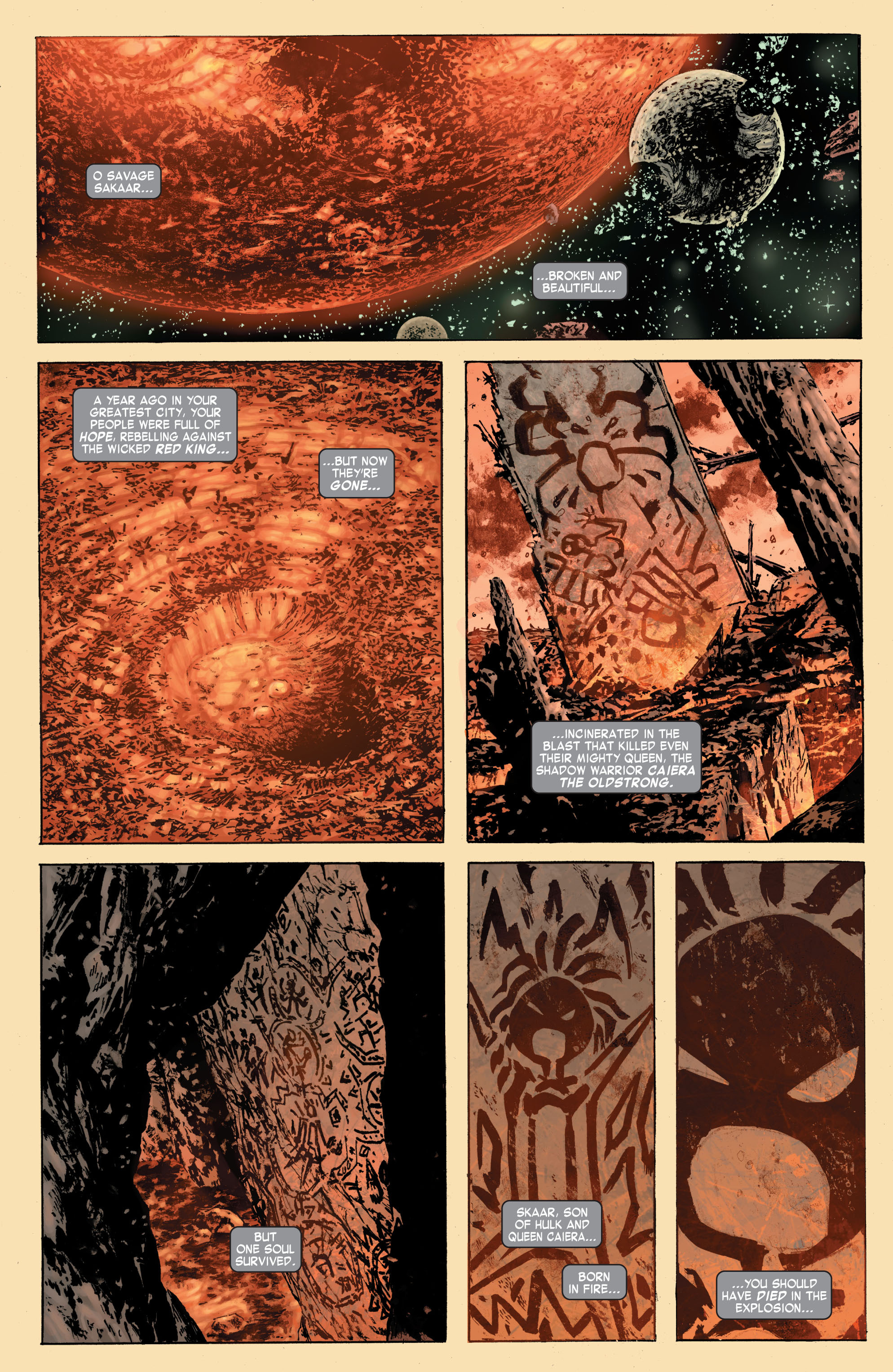 Read online Skaar: Son of Hulk comic -  Issue #7 - 3