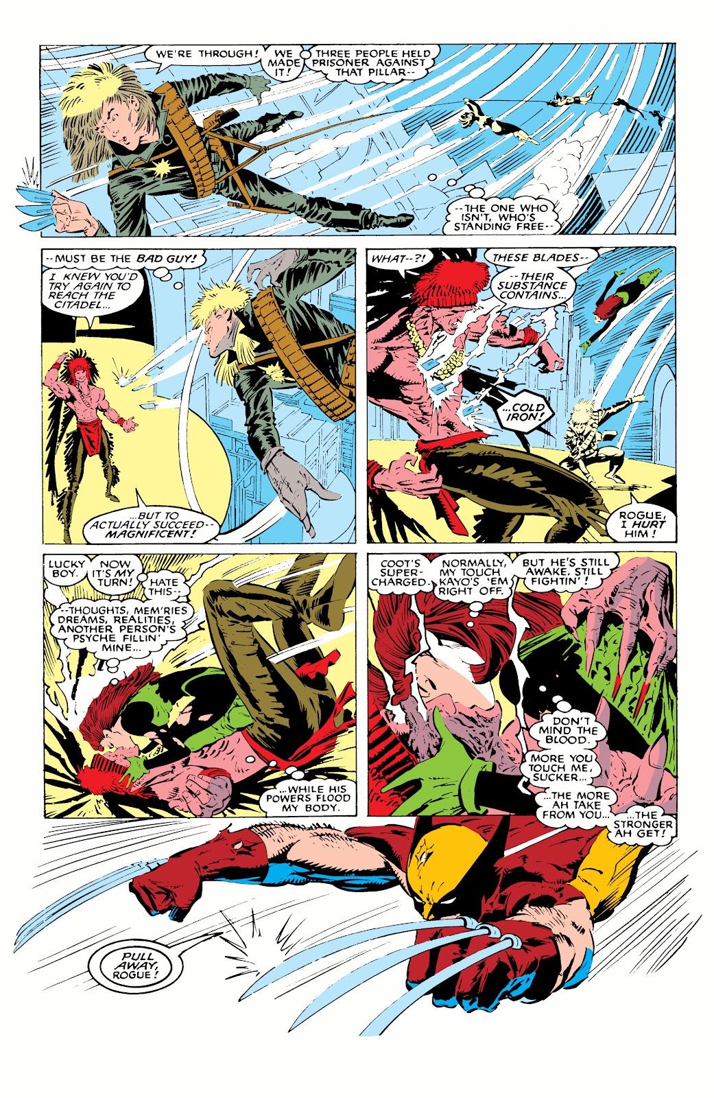 Read online X-Men Milestones: Fall of the Mutants comic -  Issue # TPB (Part 1) - 81