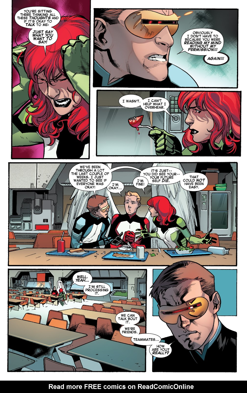 Guardians of the Galaxy/All-New X-Men: The Trial of Jean Grey issue TPB - Page 7