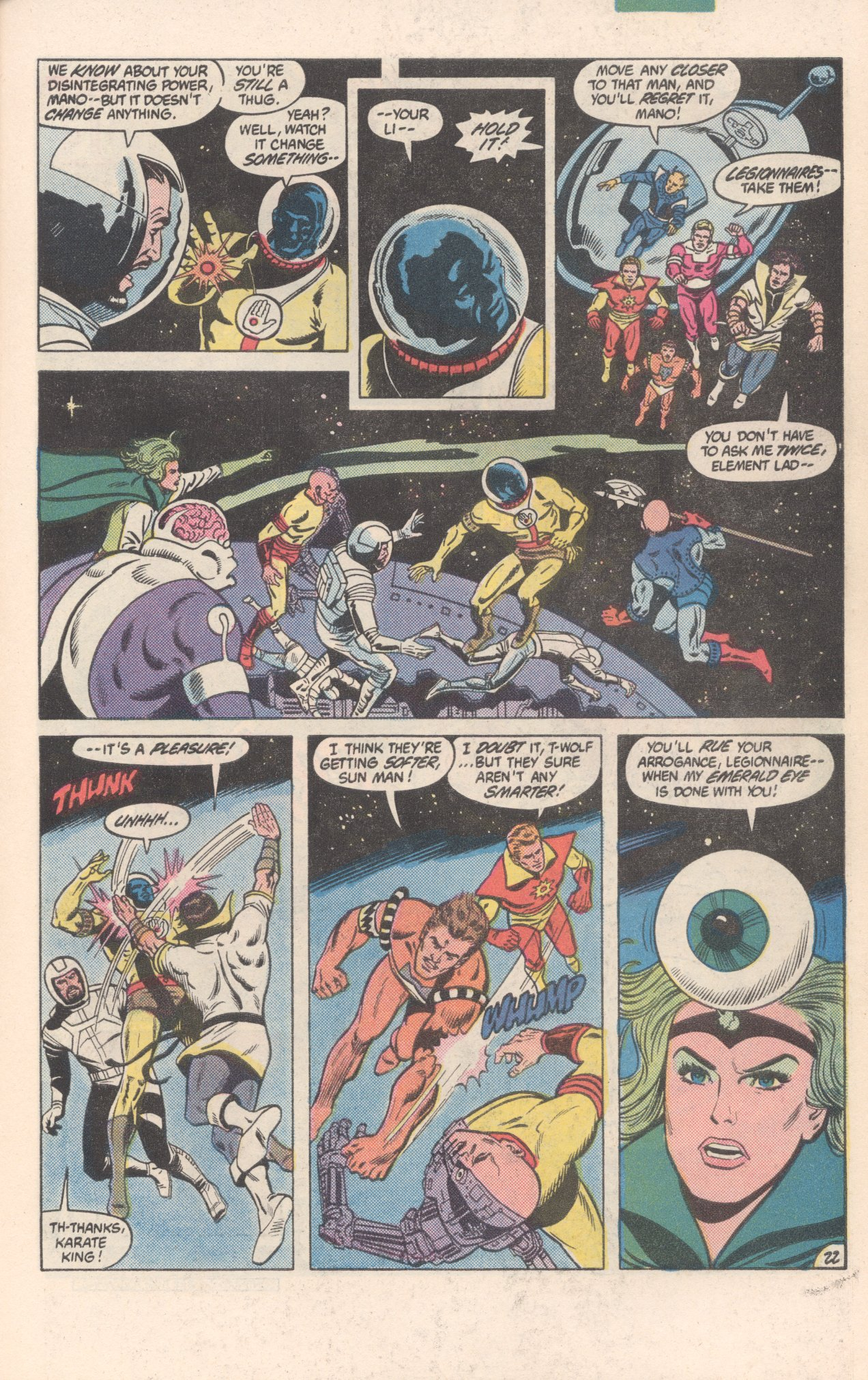 Legion of Super-Heroes (1980) 300 Page 22