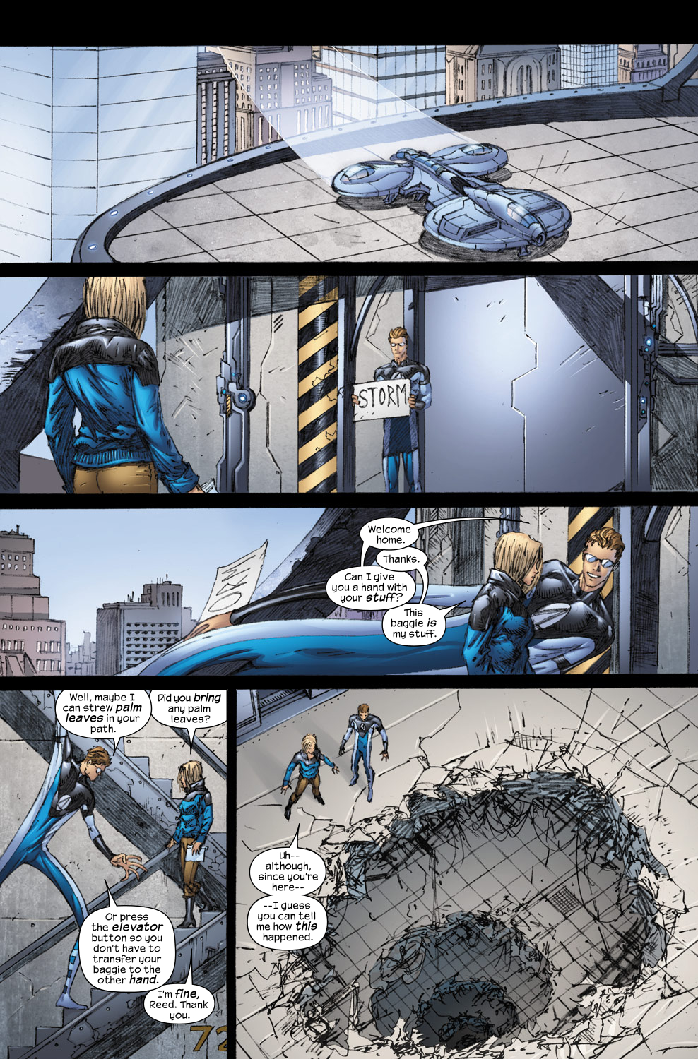 Read online Ultimate Fantastic Four (2004) comic -  Issue #54 - 10