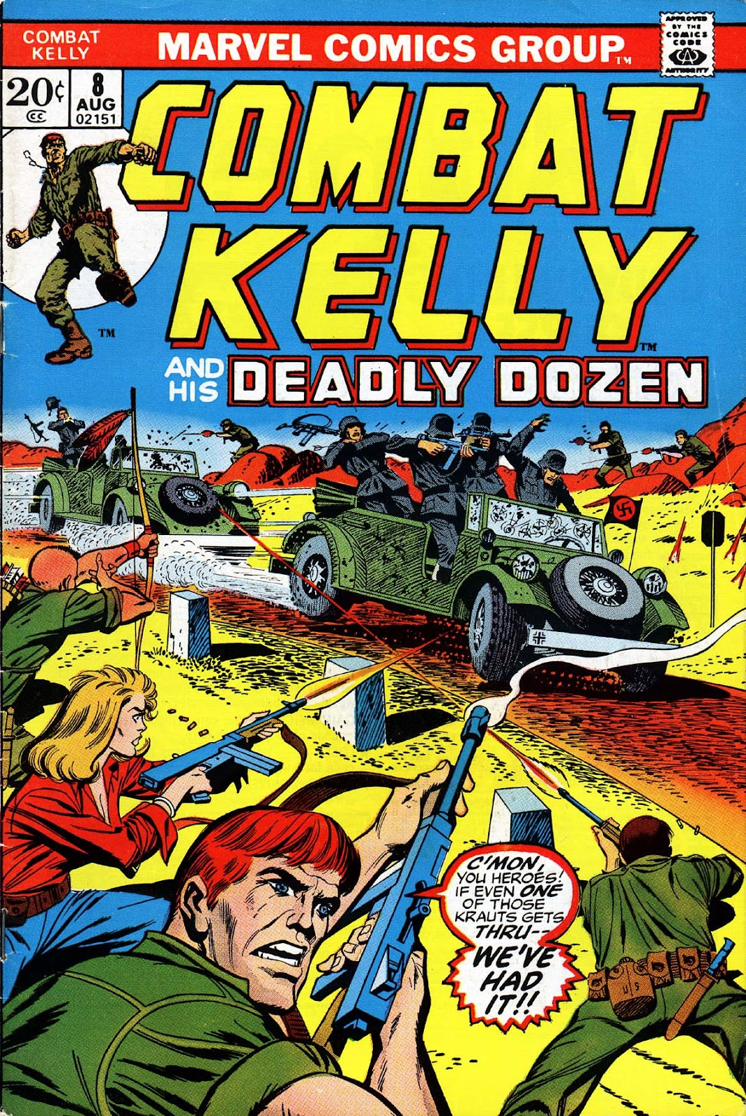 Combat Kelly (1972) issue 8 - Page 1