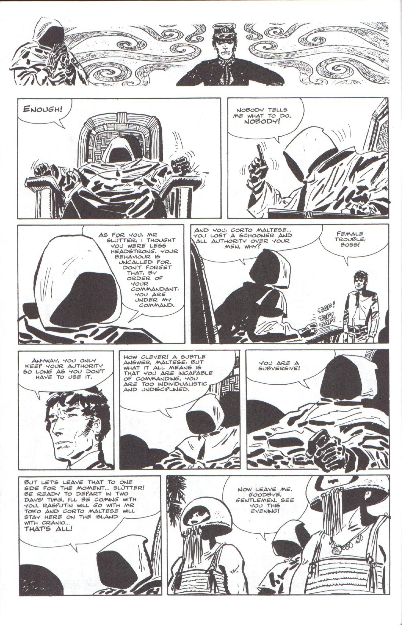 Read online Corto Maltese: Ballad of the Salt Sea comic -  Issue #4 - 6