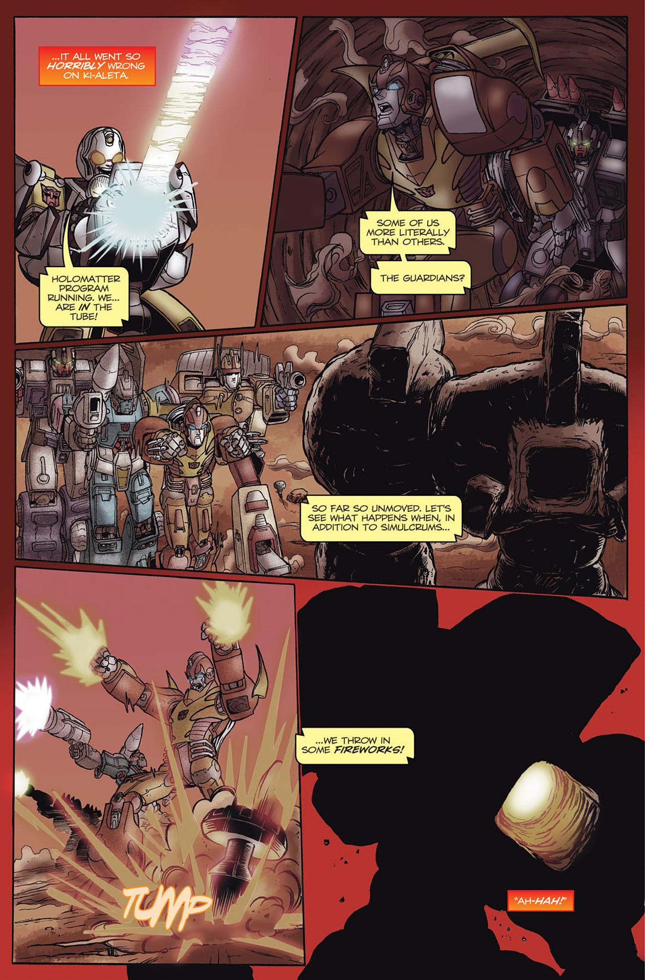 Read online Transformers Spotlight: Hot Rod comic -  Issue # Full - 13