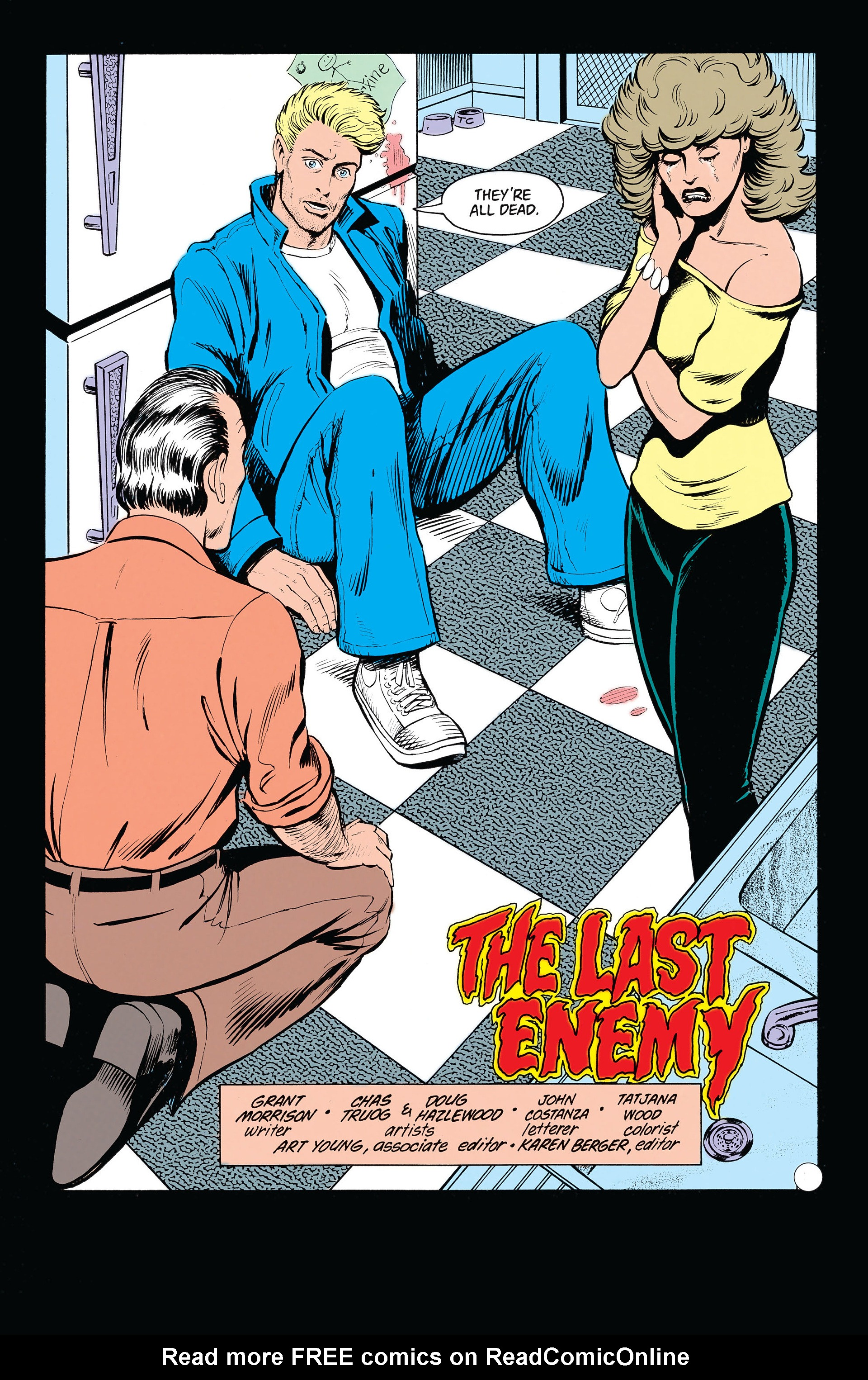 Read online Animal Man (1988) comic -  Issue #20 - 4