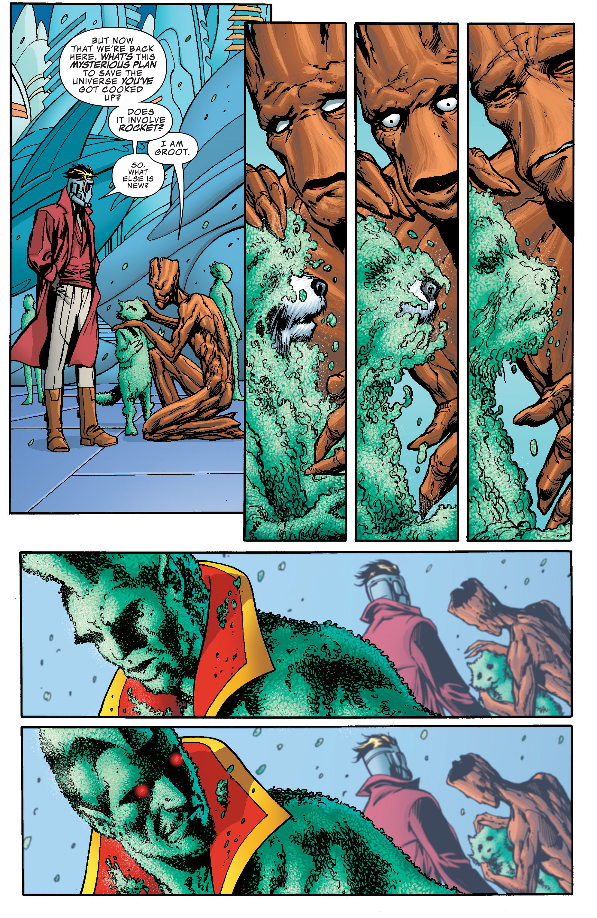 Read online Guardians of the Galaxy: Mother Entropy comic -  Issue #5 - 5