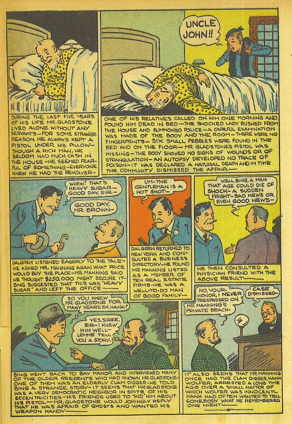 Read online Shadow Comics comic -  Issue #63 - 43